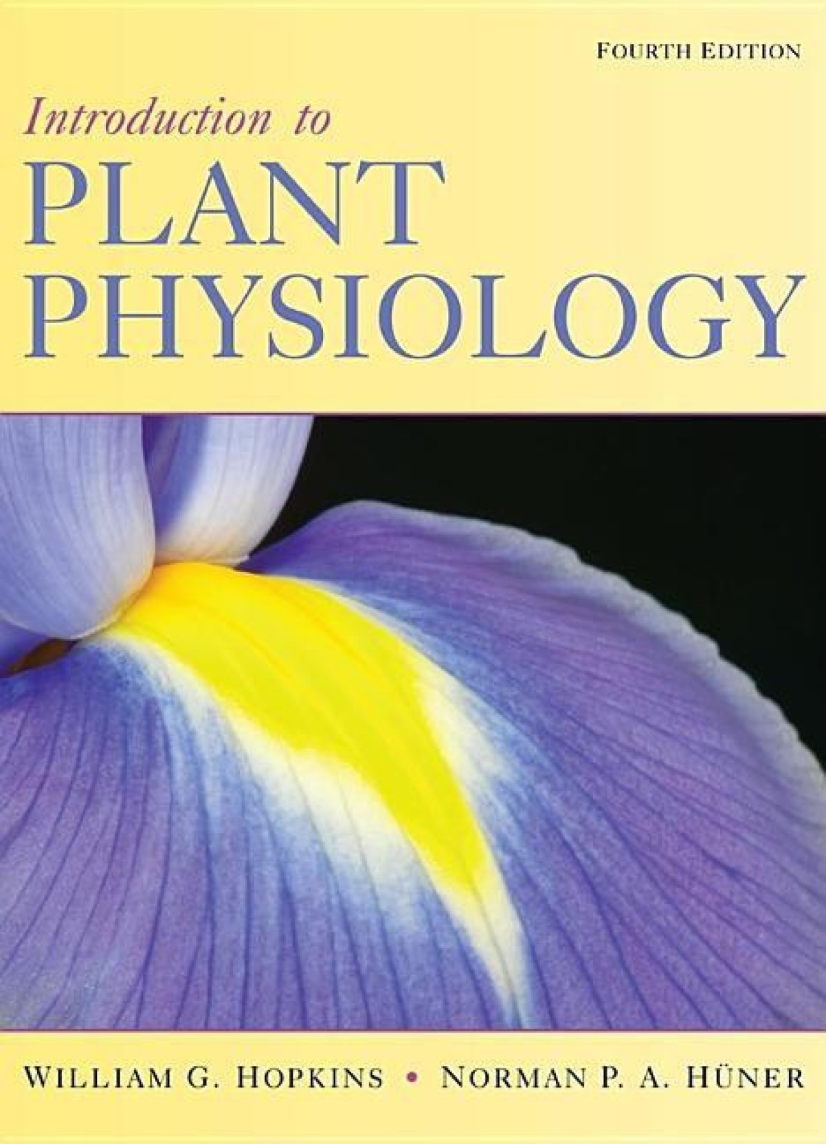 Image result for introduction to plant physiology 4th edition