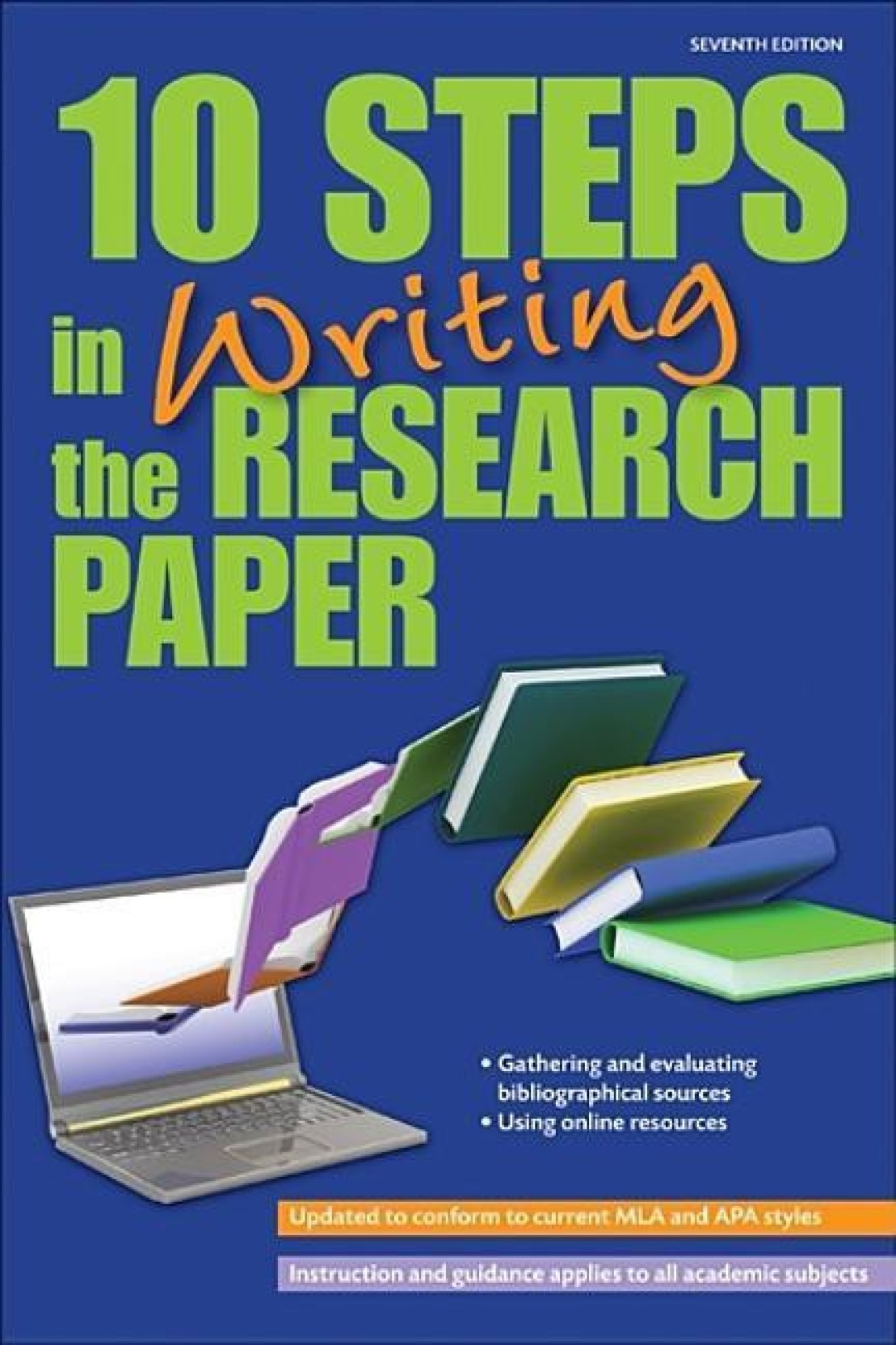 10 Steps in Writing the Research Paper. Home