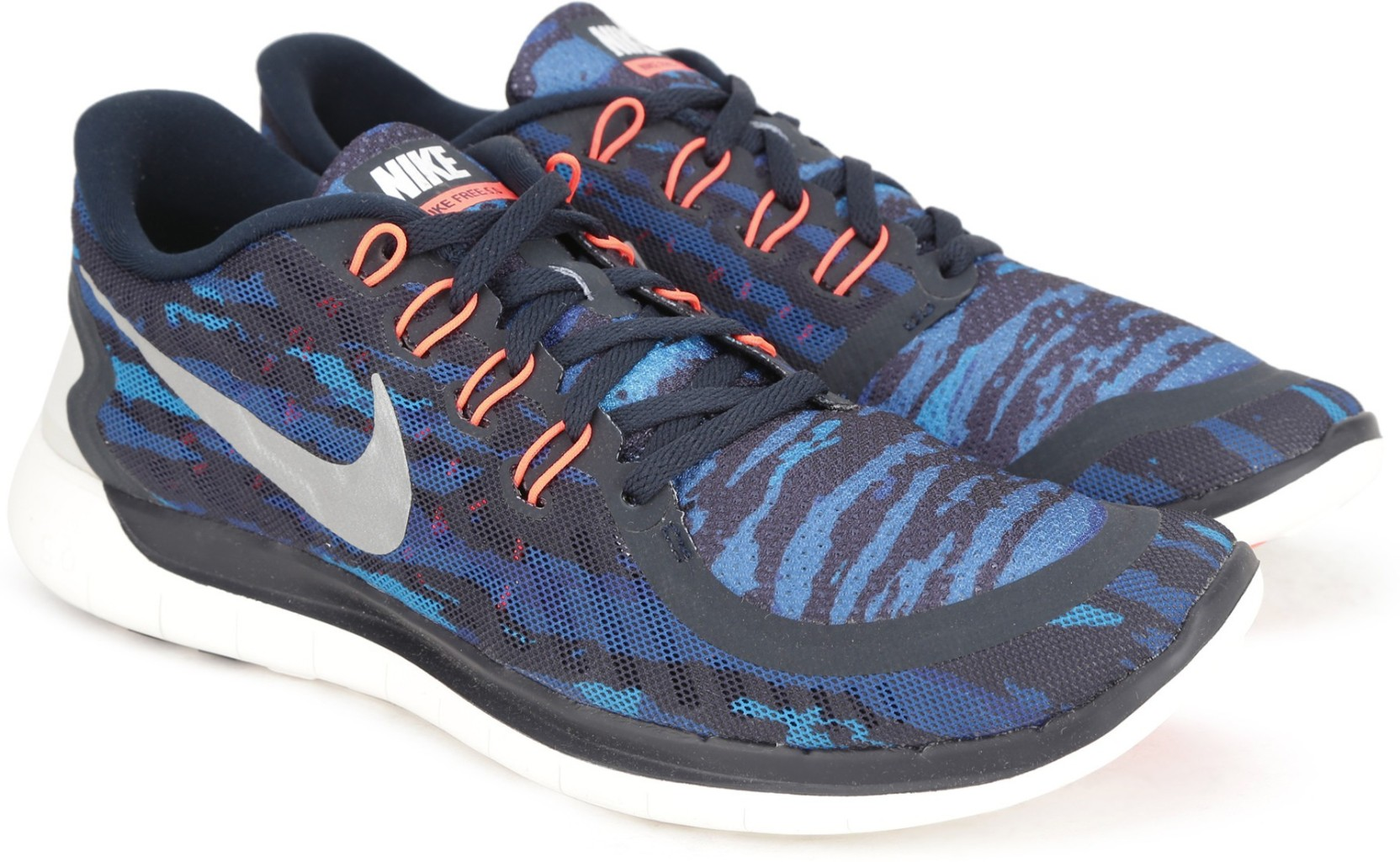 online store 1bc23 fe81f Nike FREE 5.0 PRINT Running Shoes For Men