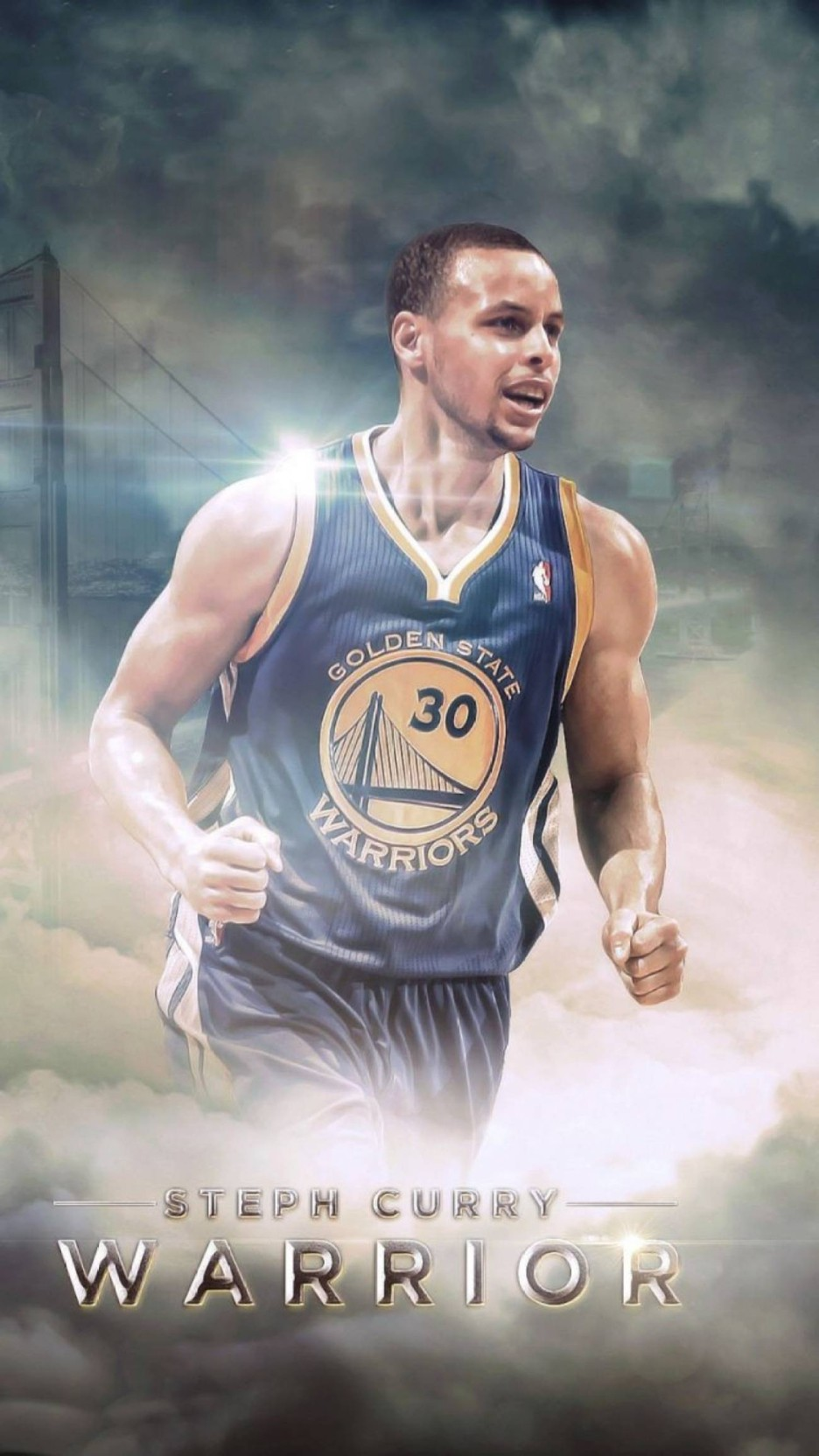 STEPH CURRY WARRIORS Photo Quality Poster Choose a Size B