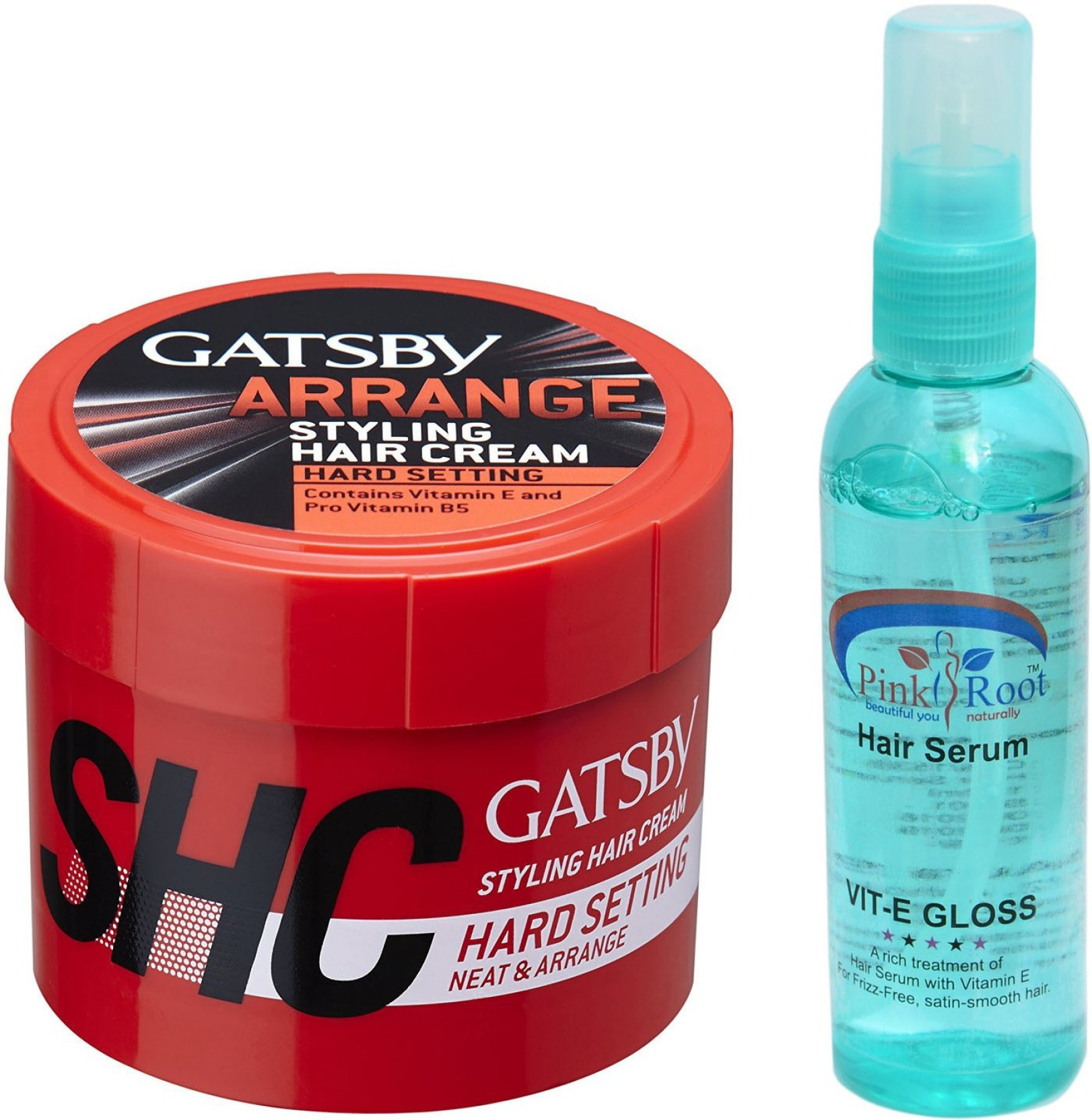Gatsby Arrange Hair Styling Cream With Pink Root Serum Price In Pomade Share