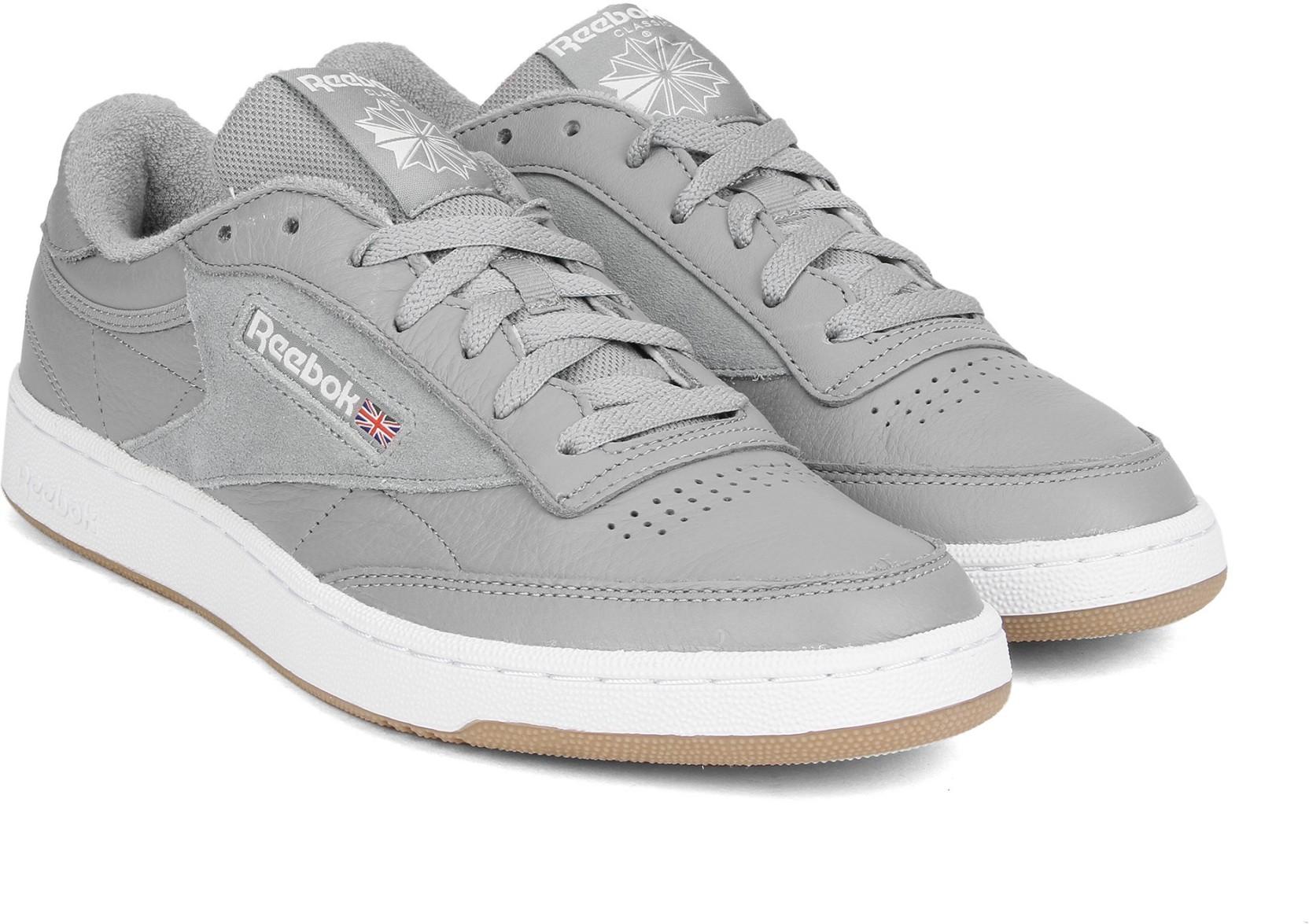 e99bf0f8291 REEBOK CLUB C 85 ESTL Sneakers For Men - Buy POWDER GREY WHT WSHD ...