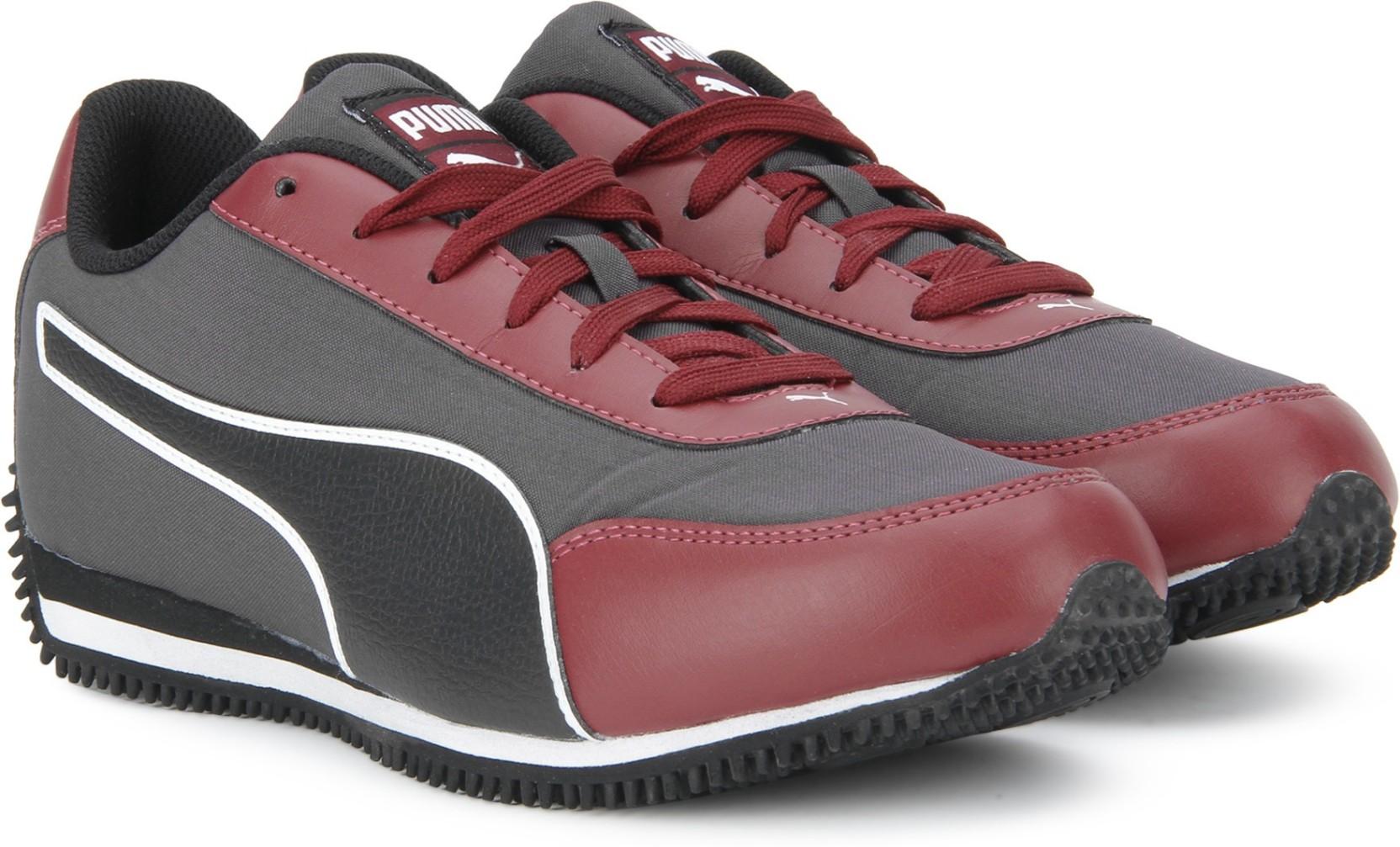 78158de1ef8f59 Puma Halley IDP Running Shoes For Men - Buy Asphalt-Tibetan Red ...