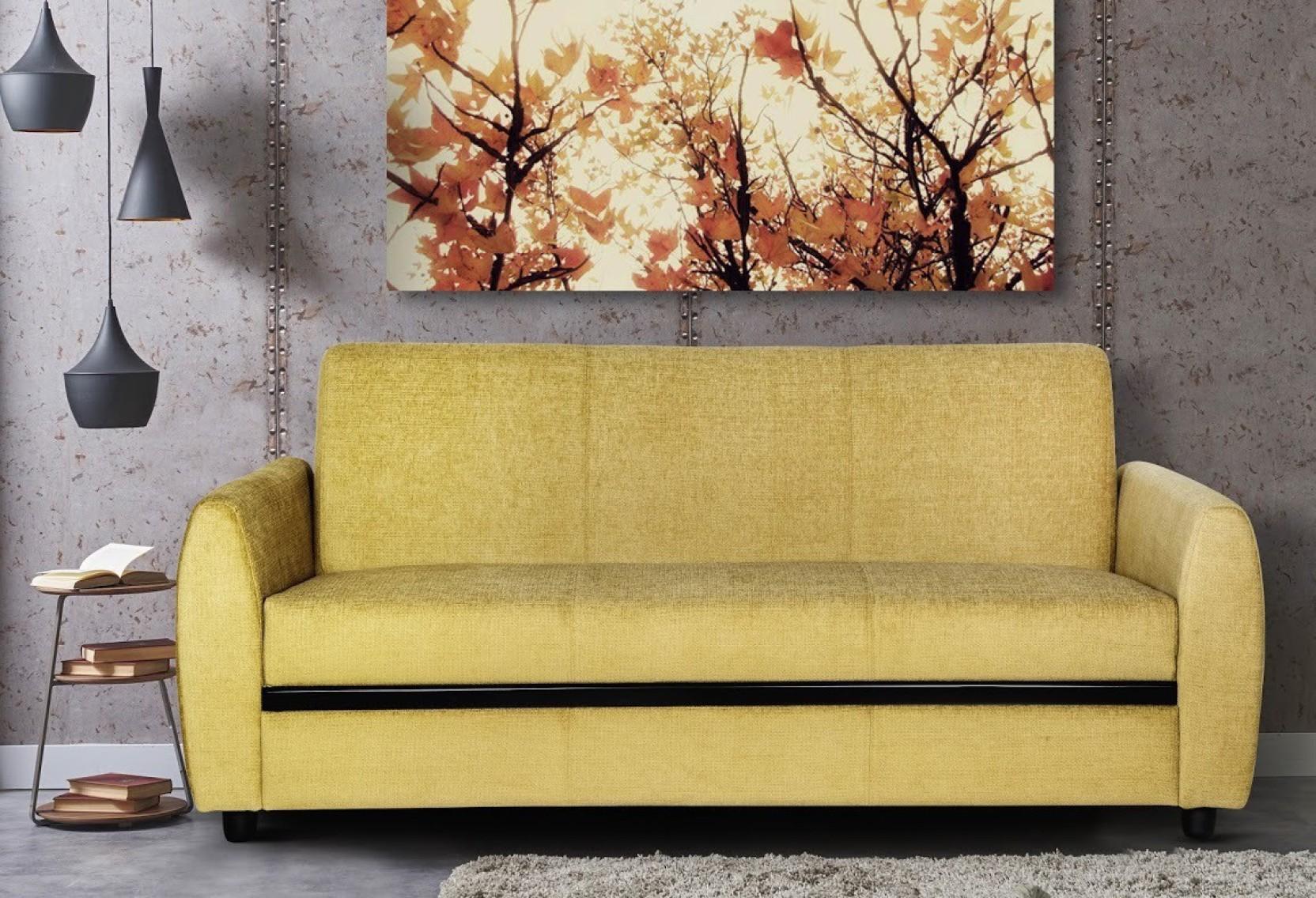 Urban Living Seattle Fabric 3 Seater Sofa Price in India - Buy Urban ...