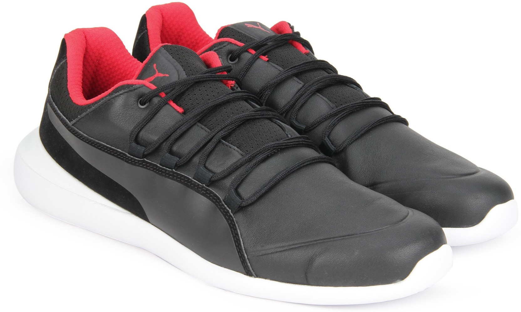Puma Ferrari SF Evo Cat Sneakers For Men - Buy Puma Black-Puma Black ... 9064d8472