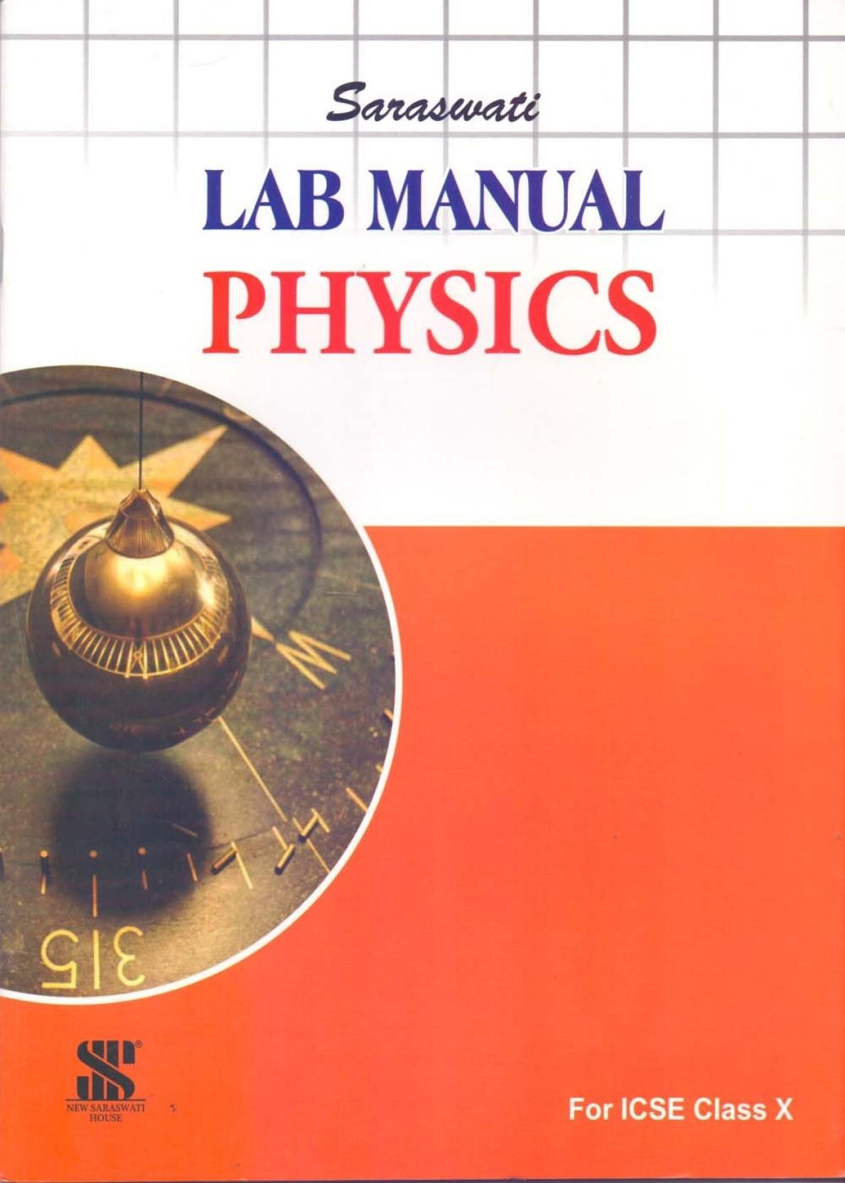 Saraswati Physics Lab Manual Class - 10. Share