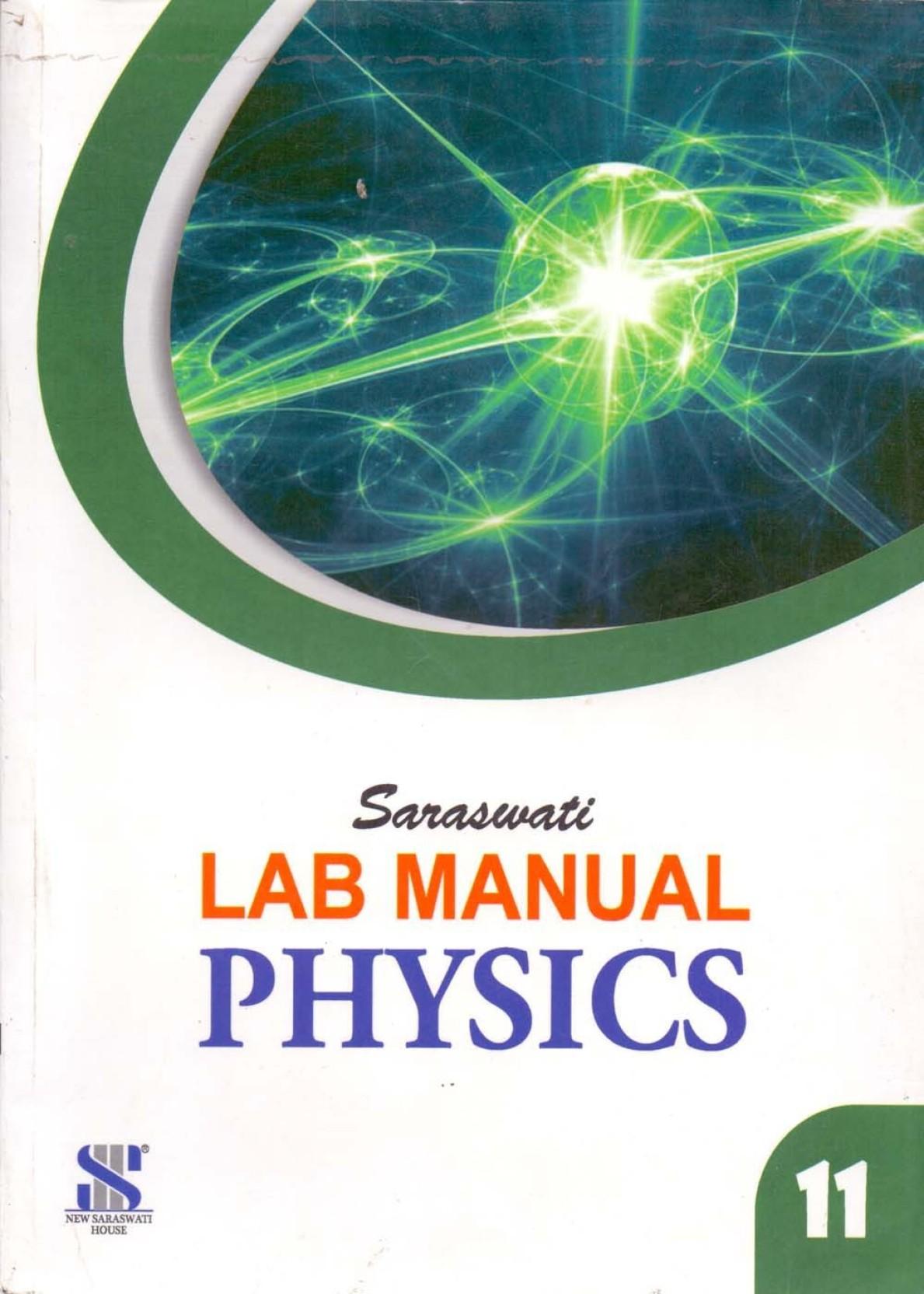 Saraswati Physics Lab Manual Class - 11. Share