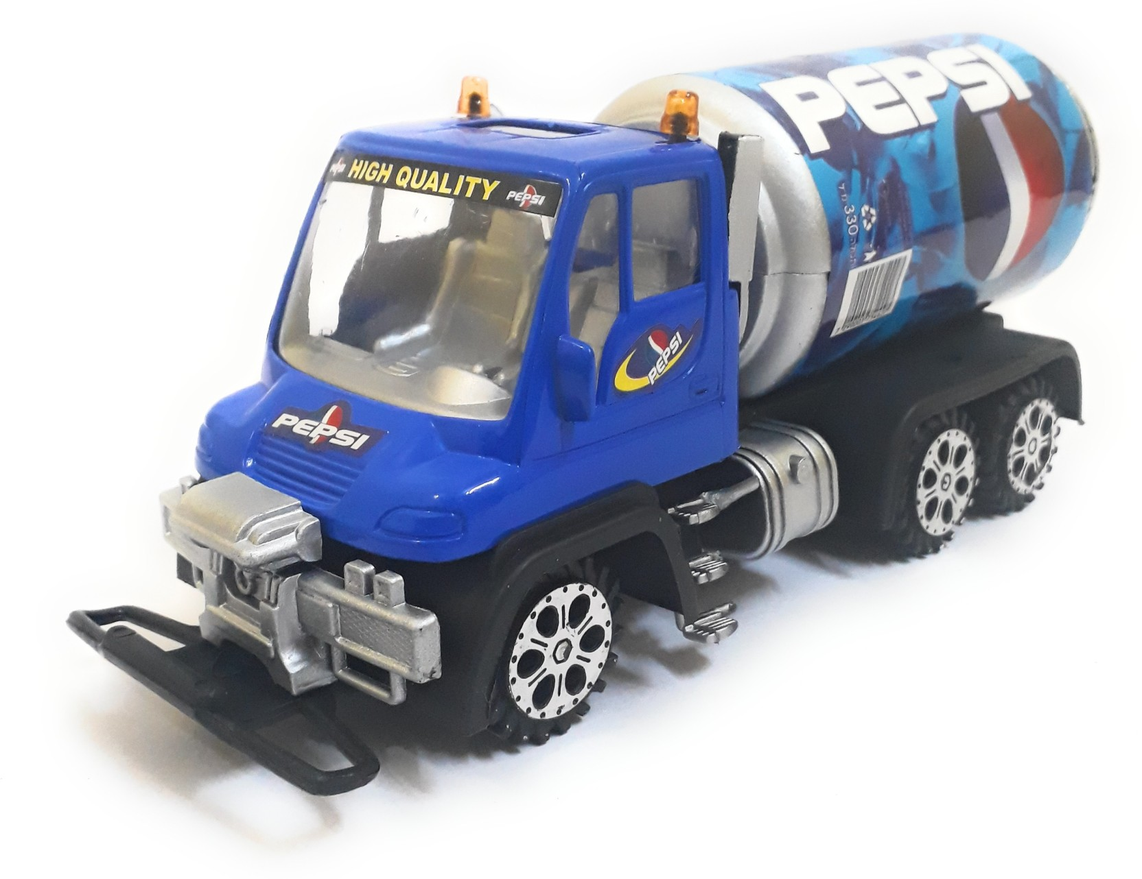 The Game Begins Super Truck for Kids, Designed with Pepsi