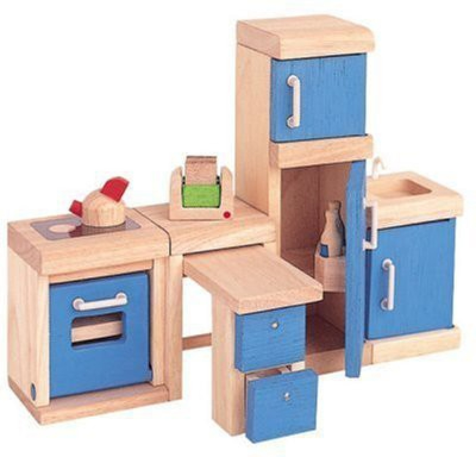 Plan toys plan toy doll house kitchen neo style by multicolor