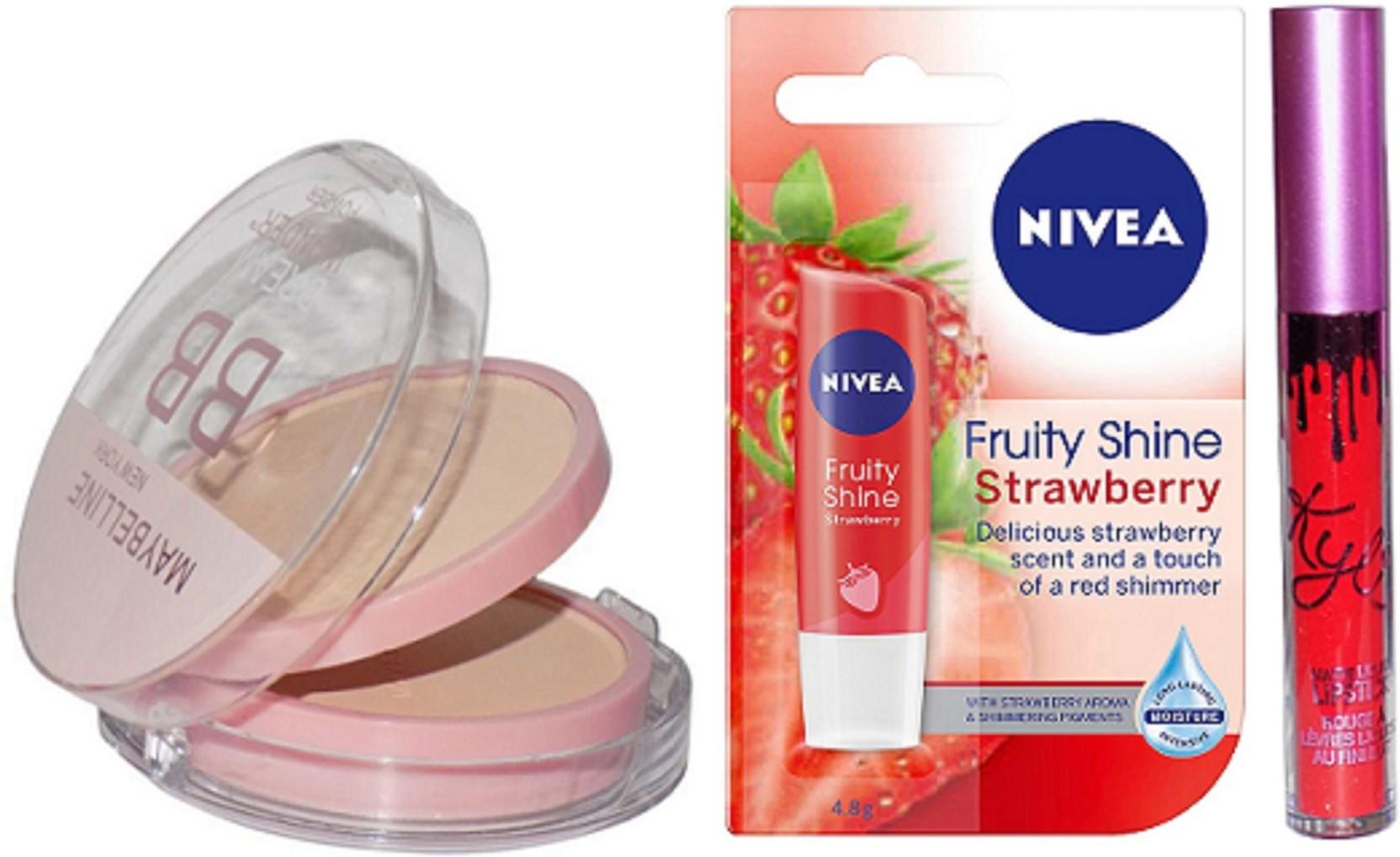 Maybelline Dream Bb Compact Nivea Strawberry Lip Balm Limited Shine Edition Gloss Share