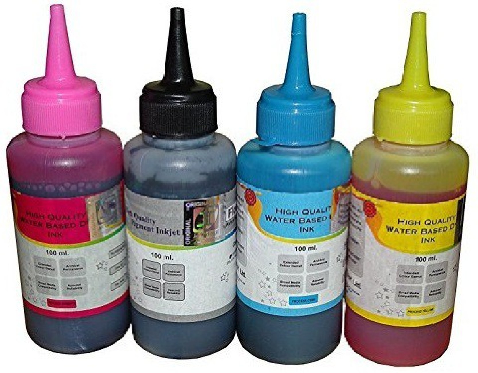 Flowjet Hp 678 Black And Color Refill Pack Multi Ink Cartridge Tinta 680 Original Compare