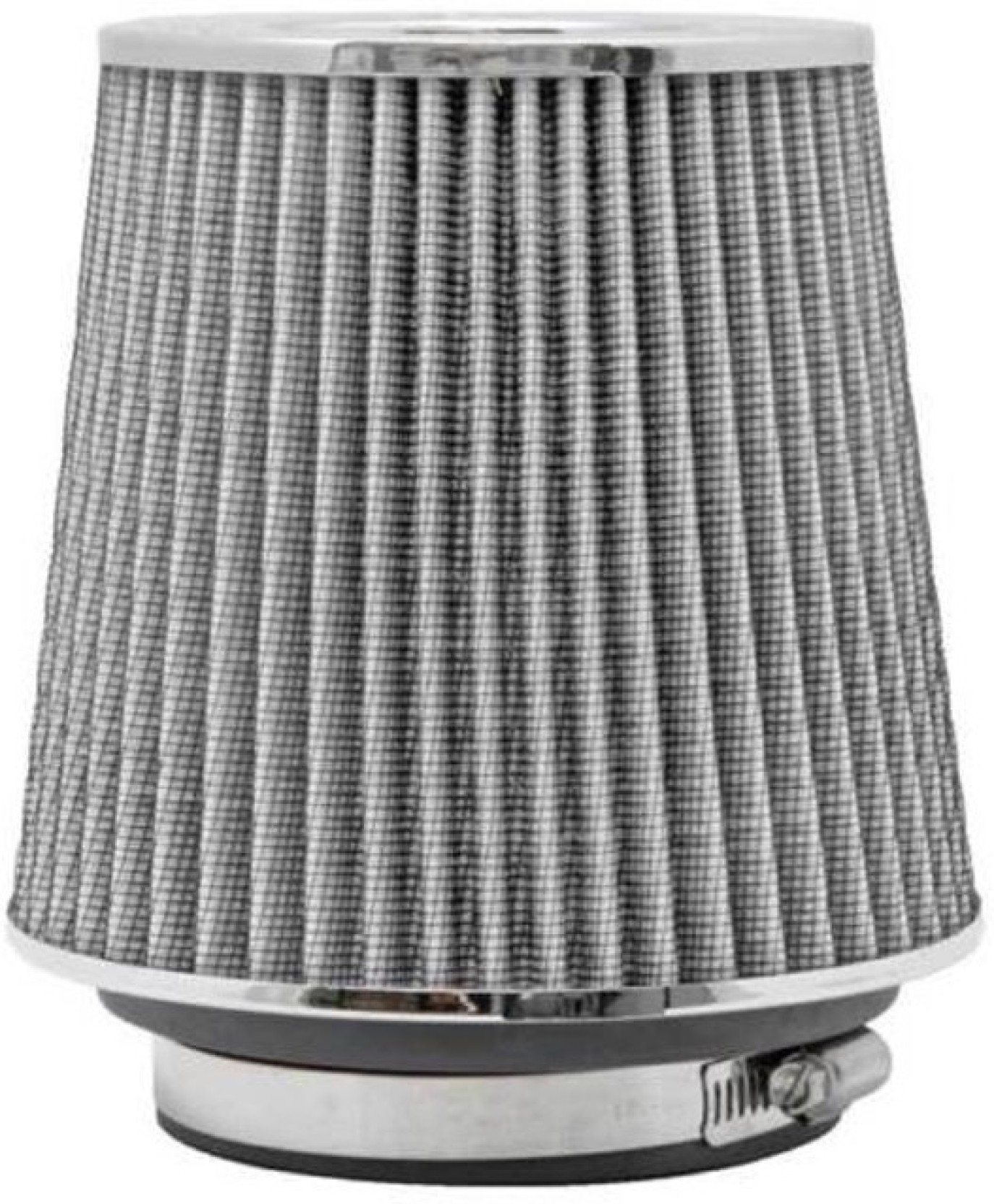 Fuji Silver 3 75mm Car Suv High Flow Short Ram Cold Air Intake Vent Fuel Filters Home