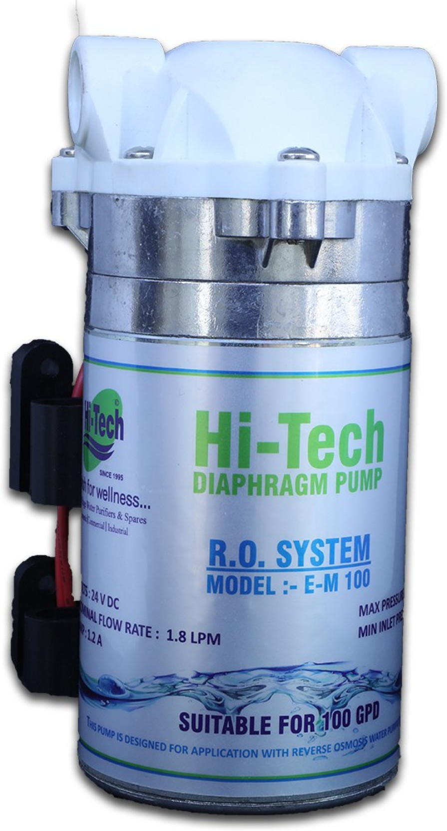 Hi tech ro booster pump em 100 gpd 24 v for dolphin kent add to cart ccuart Images