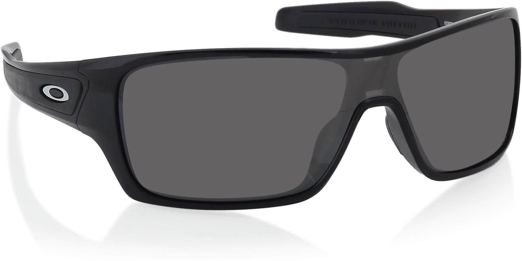 e50319178e Buy Oakley TURBINE ROTOR Wrap-around Sunglass Grey For Men Online ...