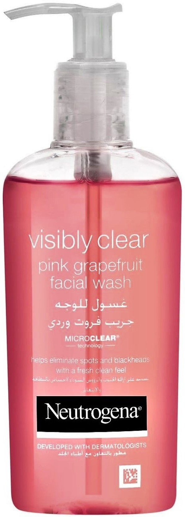 Neutrogena Pink Grapefruit Facial Wash Imported Made In Greece
