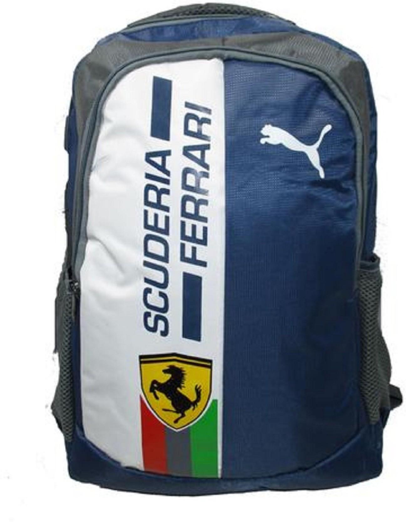 354e28ad5734 Puma Ferrari 25 L Backpack Blue - Price in India | Flipkart.com