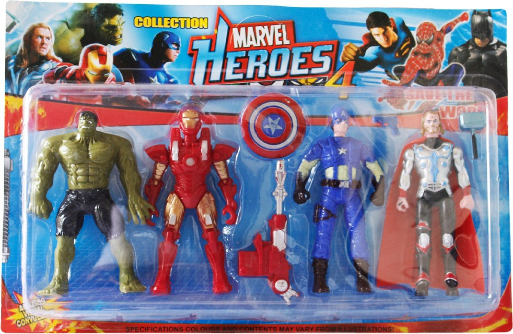 toys factory marvel heroes - marvel heroes . buy thor, hulk, captain