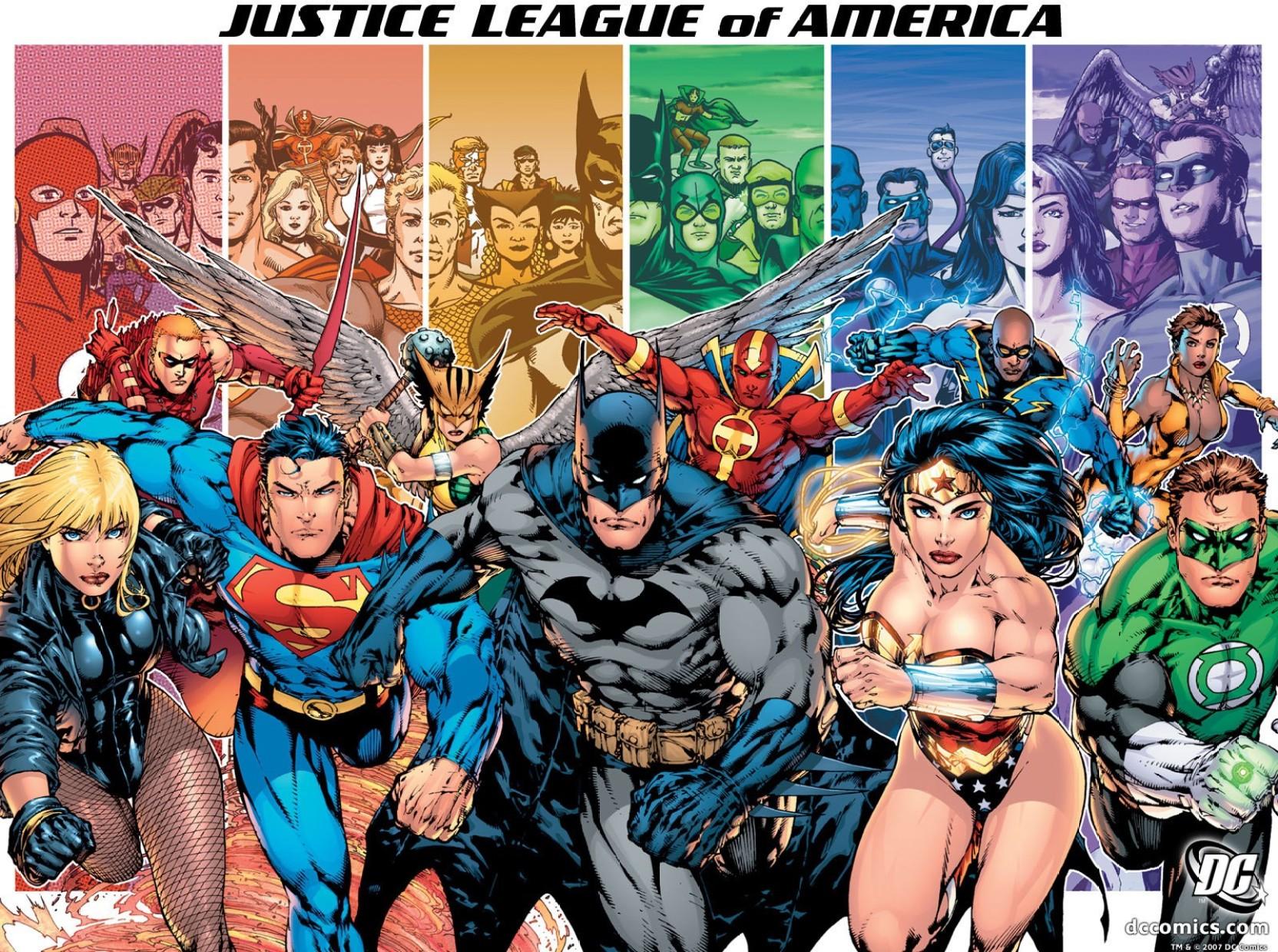 Justice League Superman Batman Green Lantern Flash Kid/'s Wallet NEW
