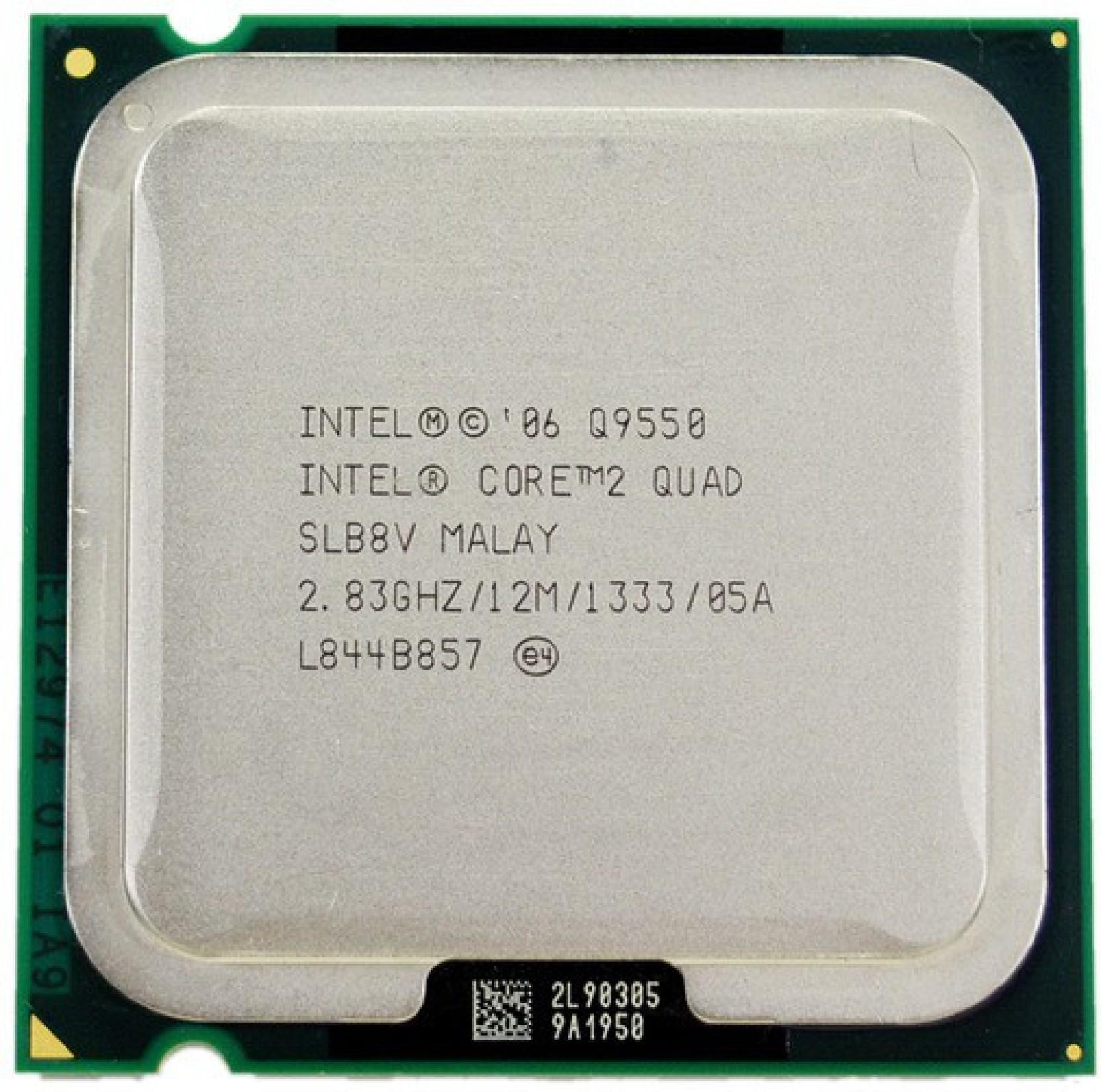 Intel 283 Lga 775 Core 2 Quad Q9550 Processor Q6600 Home