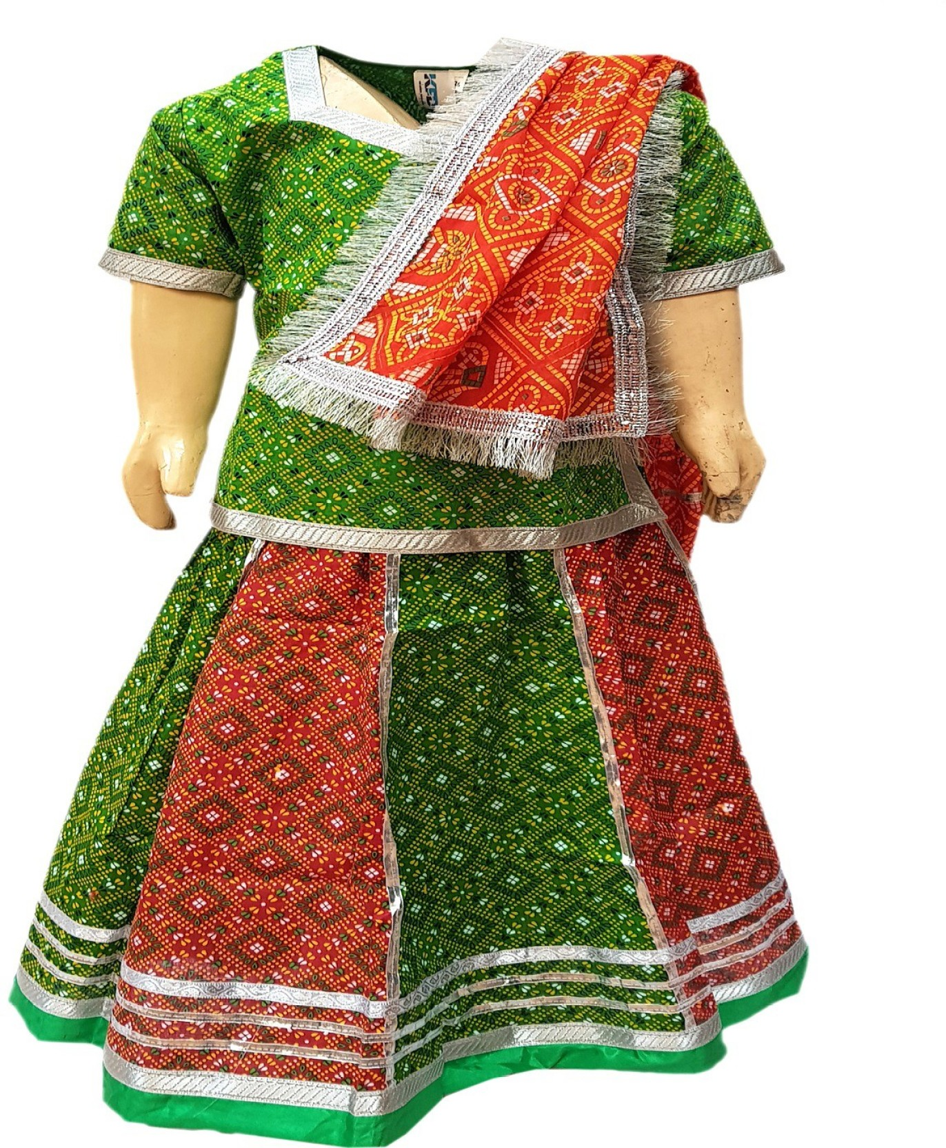 64237200c Kaku Fancy Dresses Rajasthani Dress Kids Costume Wear Price in India ...