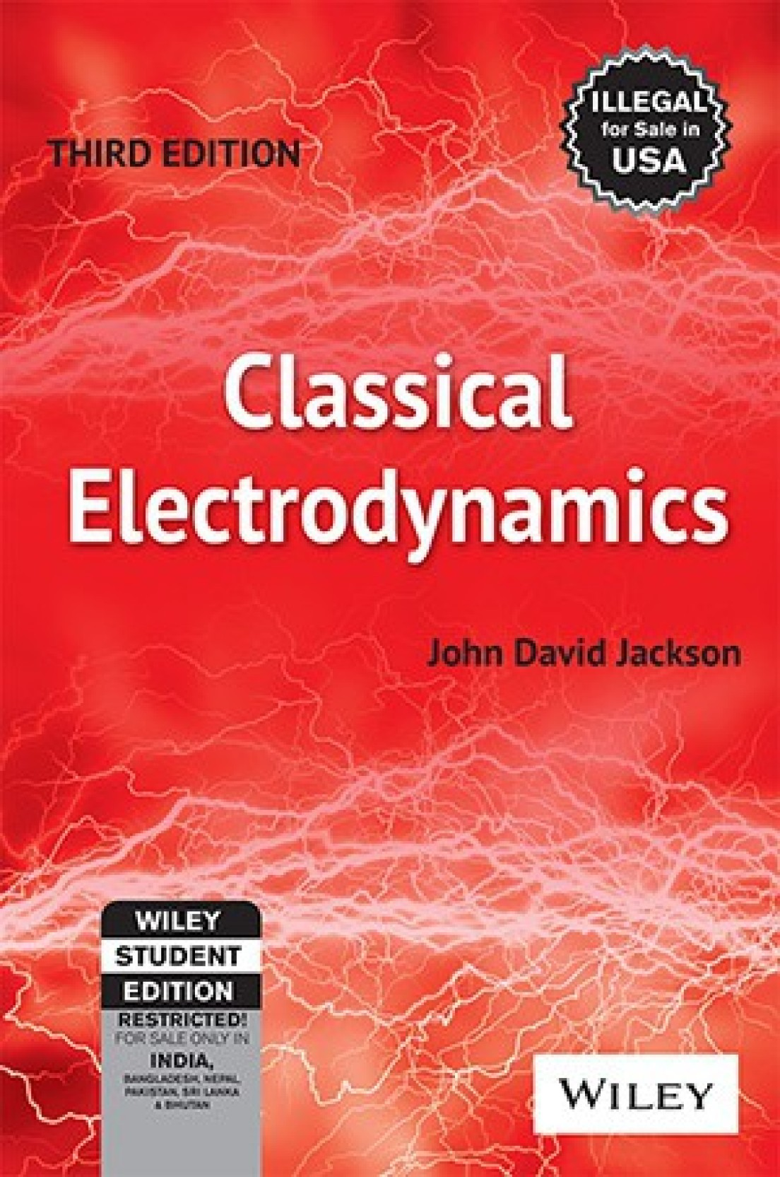 Classical Electrodynamics 3rd Edition. ADD TO CART