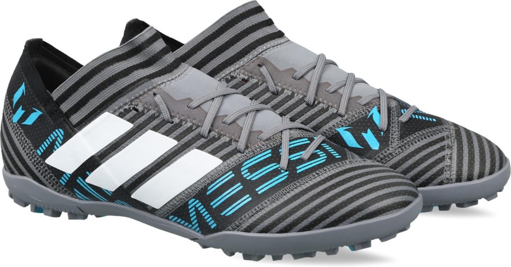 75e9406c4 ADIDAS NEMEZIZ MESSI TANGO 17.3 TF Football Shoes For Men (Blue, Grey)