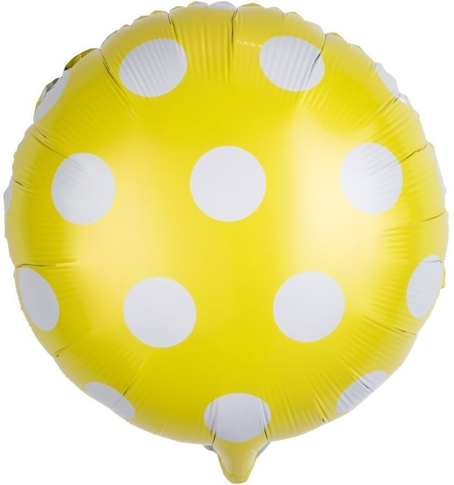 PARTY PROPZ Printed 18Inch Polka Dot Balloon Birthday Decorations Foil Mylar Balloons 5 Pcs Multicolor Pack Of
