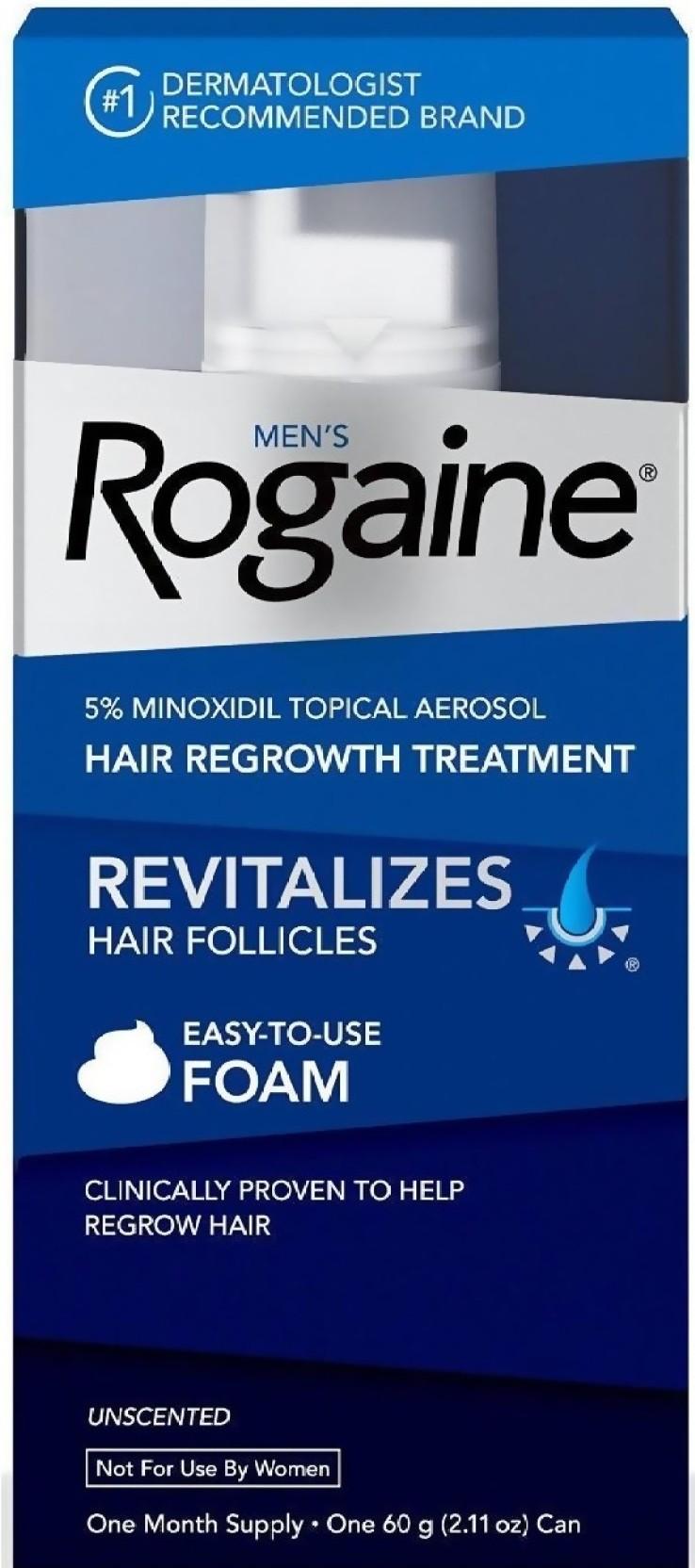 Rogaine Foam Hair Regrowth Price In India Buy Minoxidil Topical Aerosol 60 G