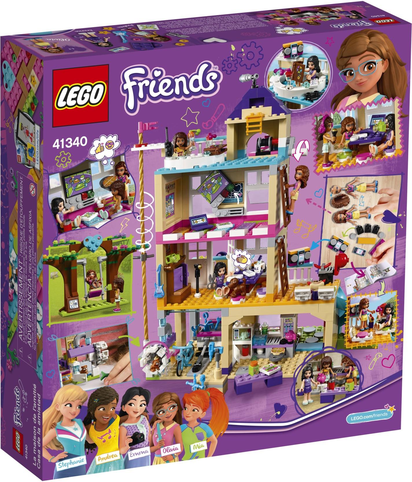 Lego Friends Friendship House 722 Pcs Friends Friendship House