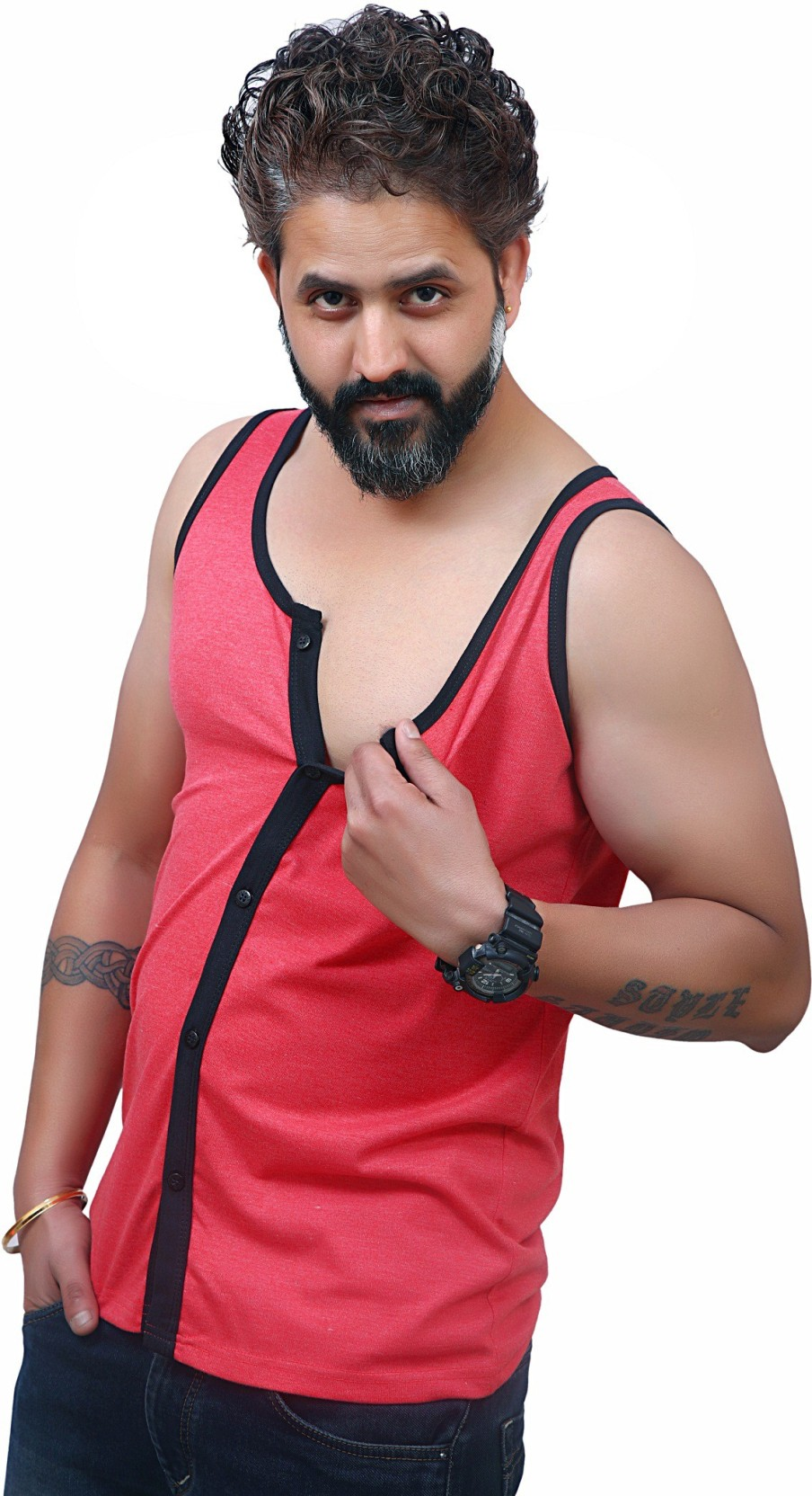 1e2711c9 Sleeveless T Shirts For Gym Flipkart
