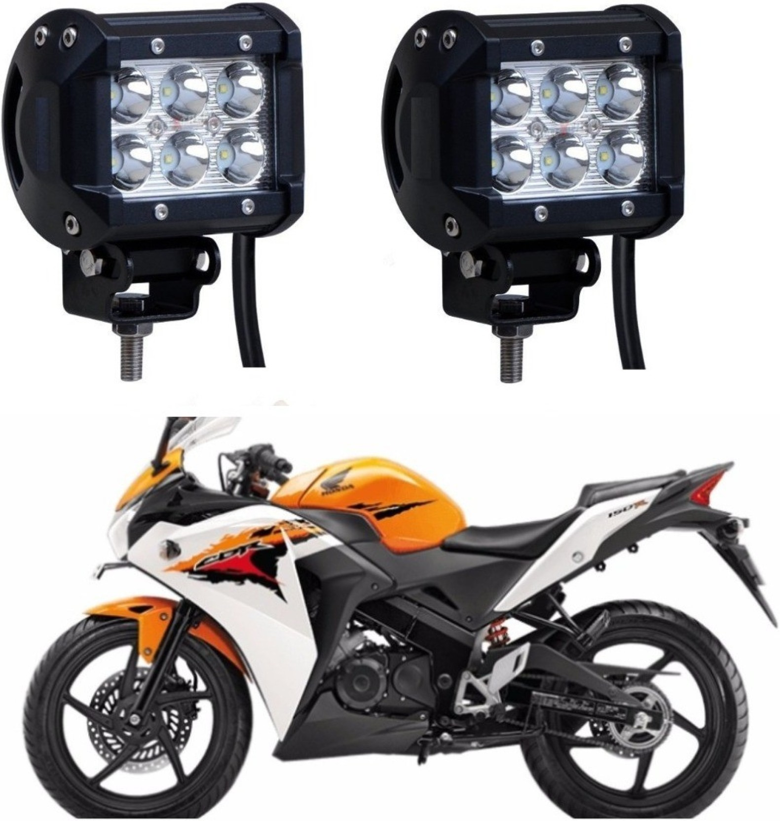 Auto Garh Back Up Lamp Fog Headlight Tail Light Led For Cbr T Shirt On Offer Add To Cart