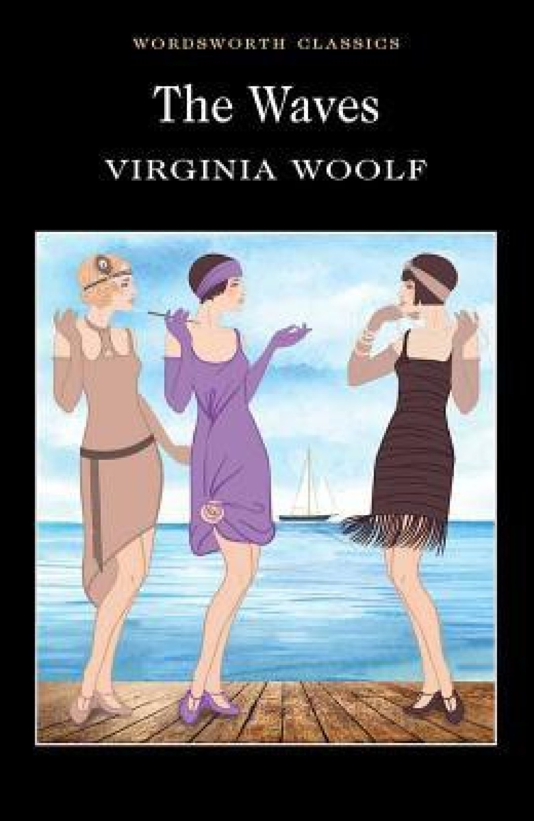 The Waves By Woolf Virginia