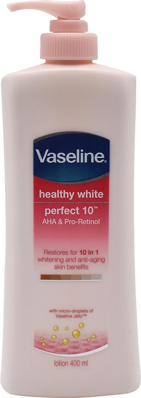 Vaseline Healthy White Perfect 10 Aha Pro Retinol Lotion 400ml Home