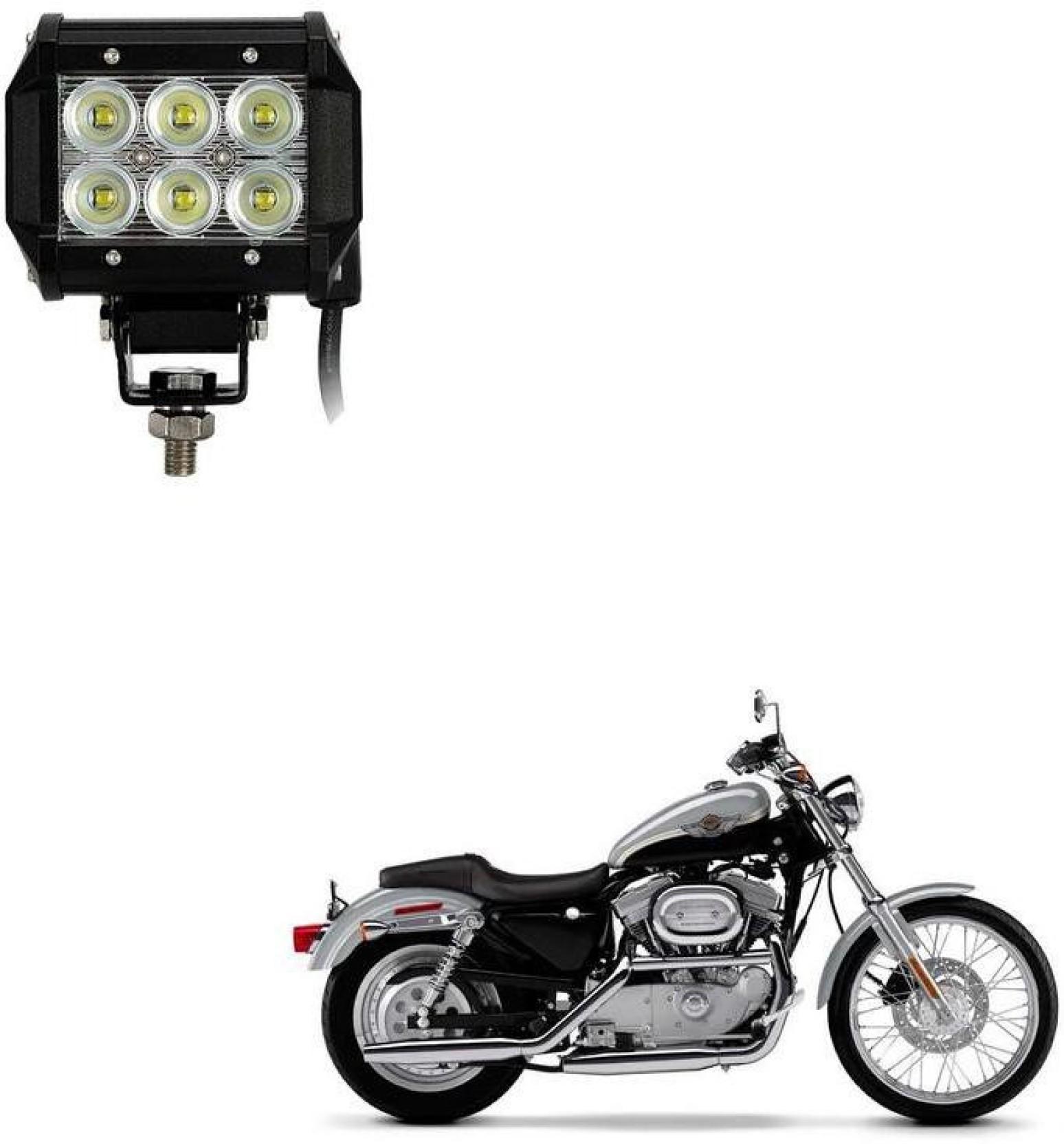 AutoKraftZ HID Fog Light For Harley Davidson Universal For