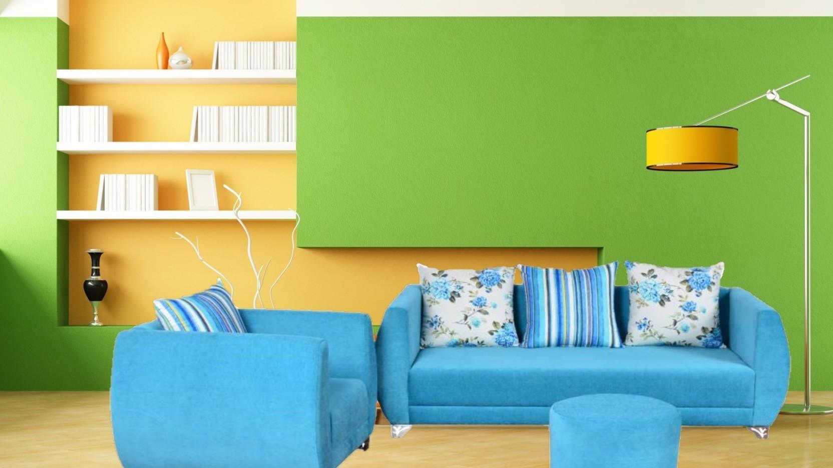 Lightblue Sofa Set Share