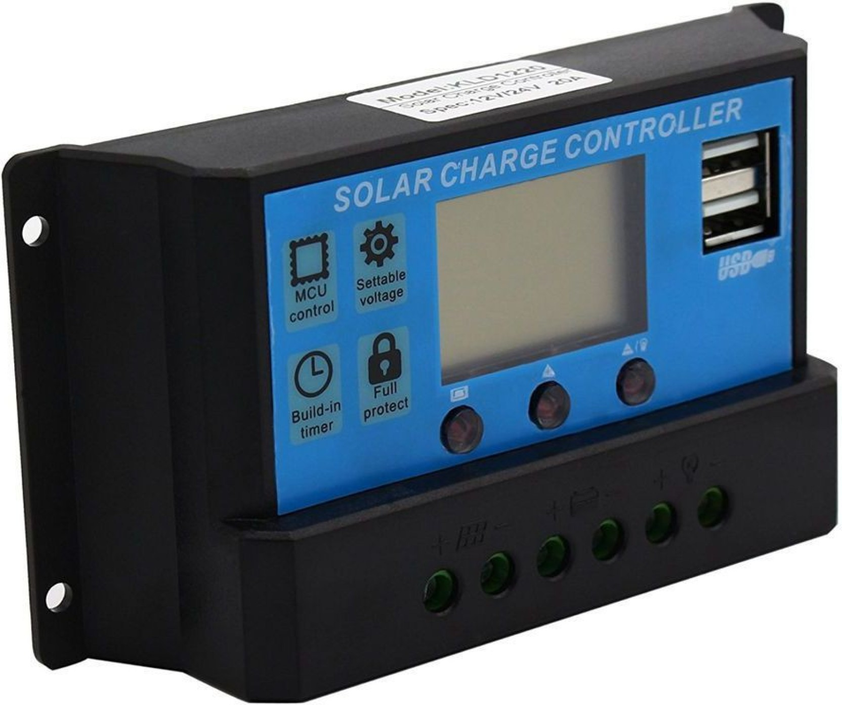 Techtest 30a Lcd Solar Charge Controller 12v 24v Pwm Panel Charger Build Battery Regulator Share