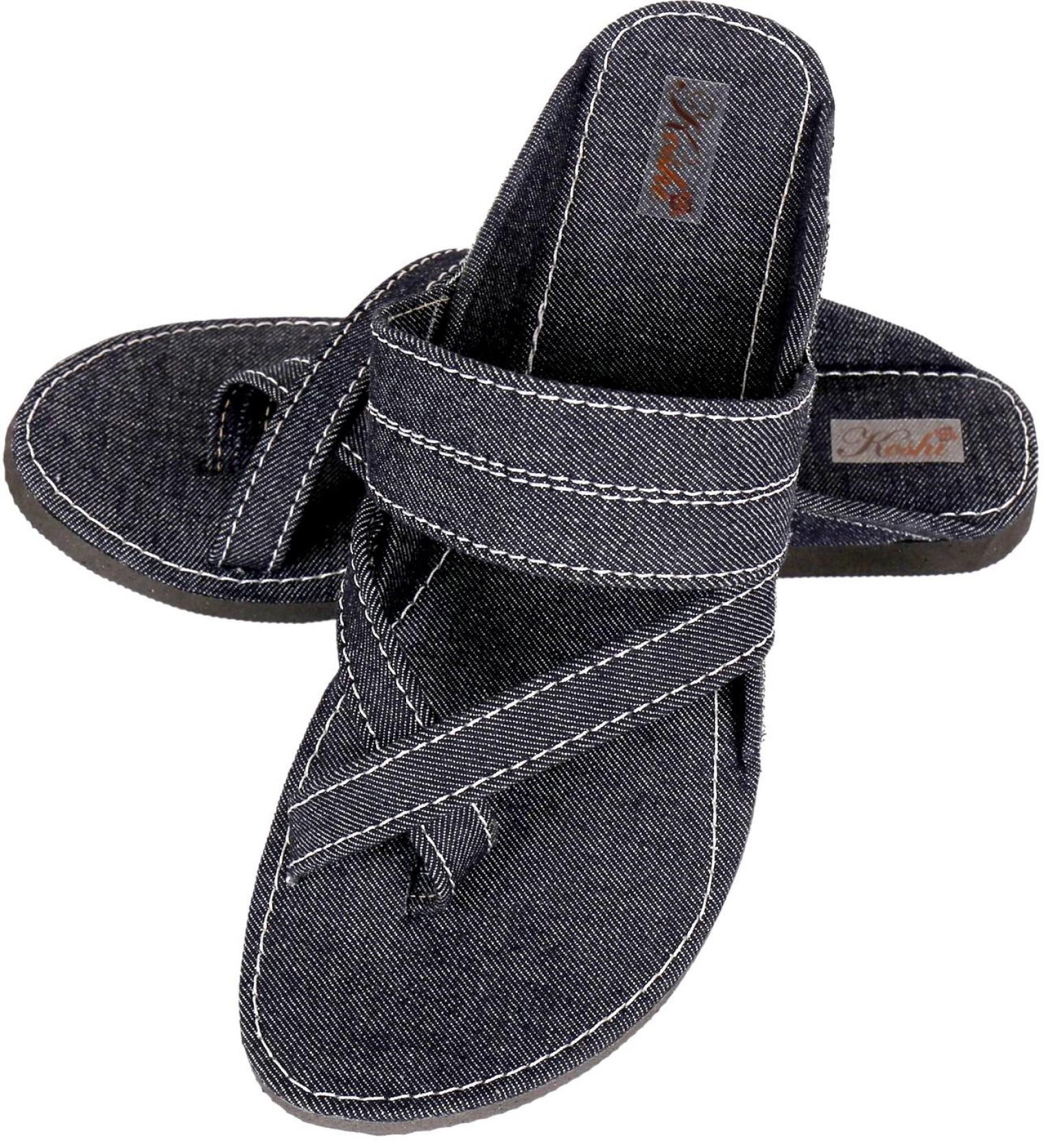 9f15b1a55 Koshi Men Black Sandals - Buy Koshi Men Black Sandals Online at Best ...