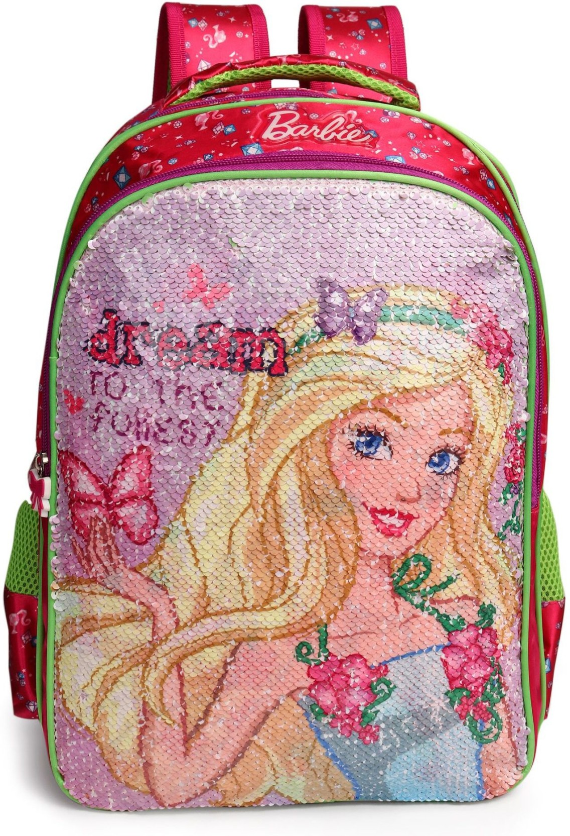 31aa4d527ce Disney Pink Sequin Backpack- Fenix Toulouse Handball