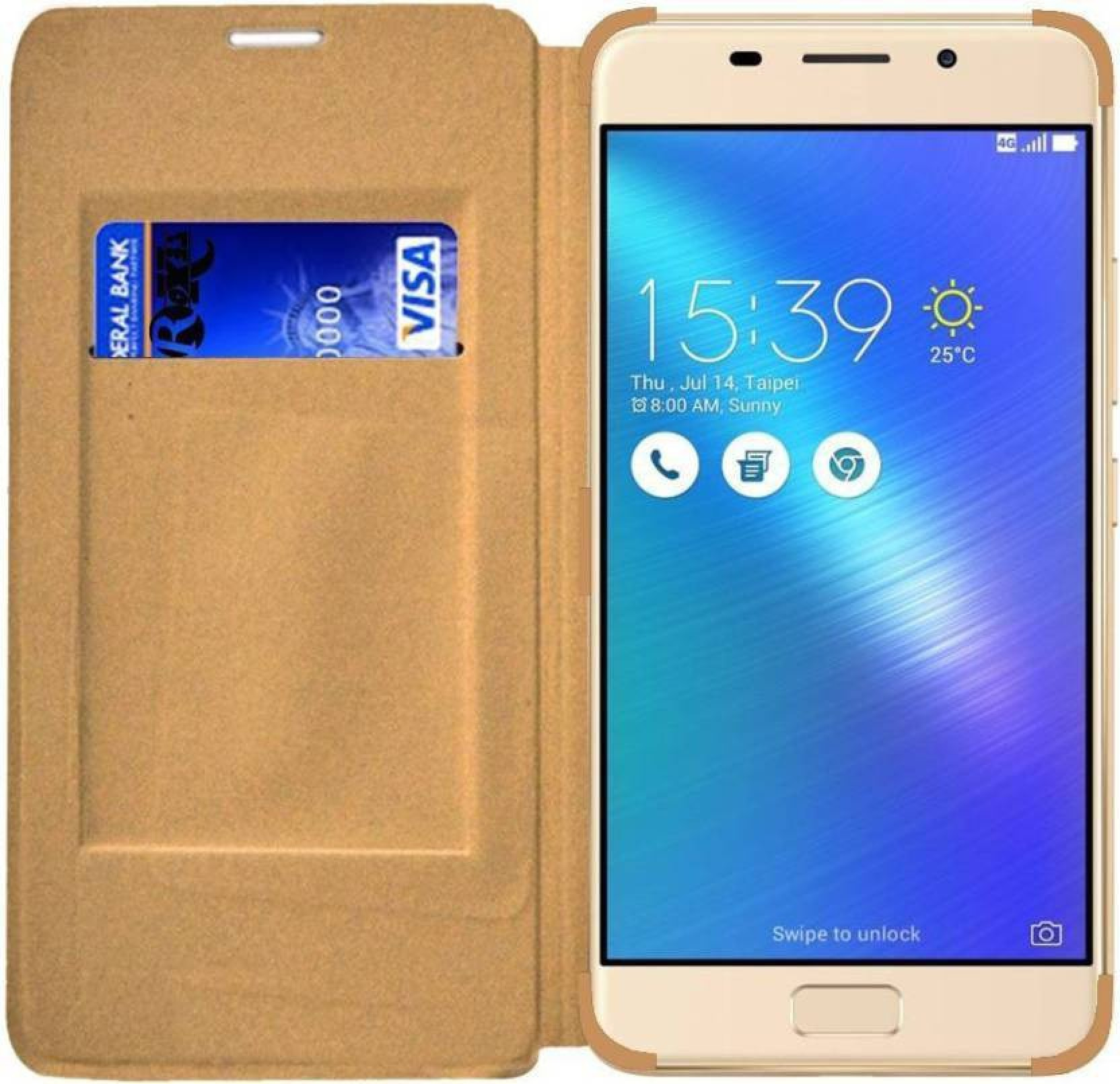 Slm Accessories Flip Cover for Oppo A83 - Slm Accessories