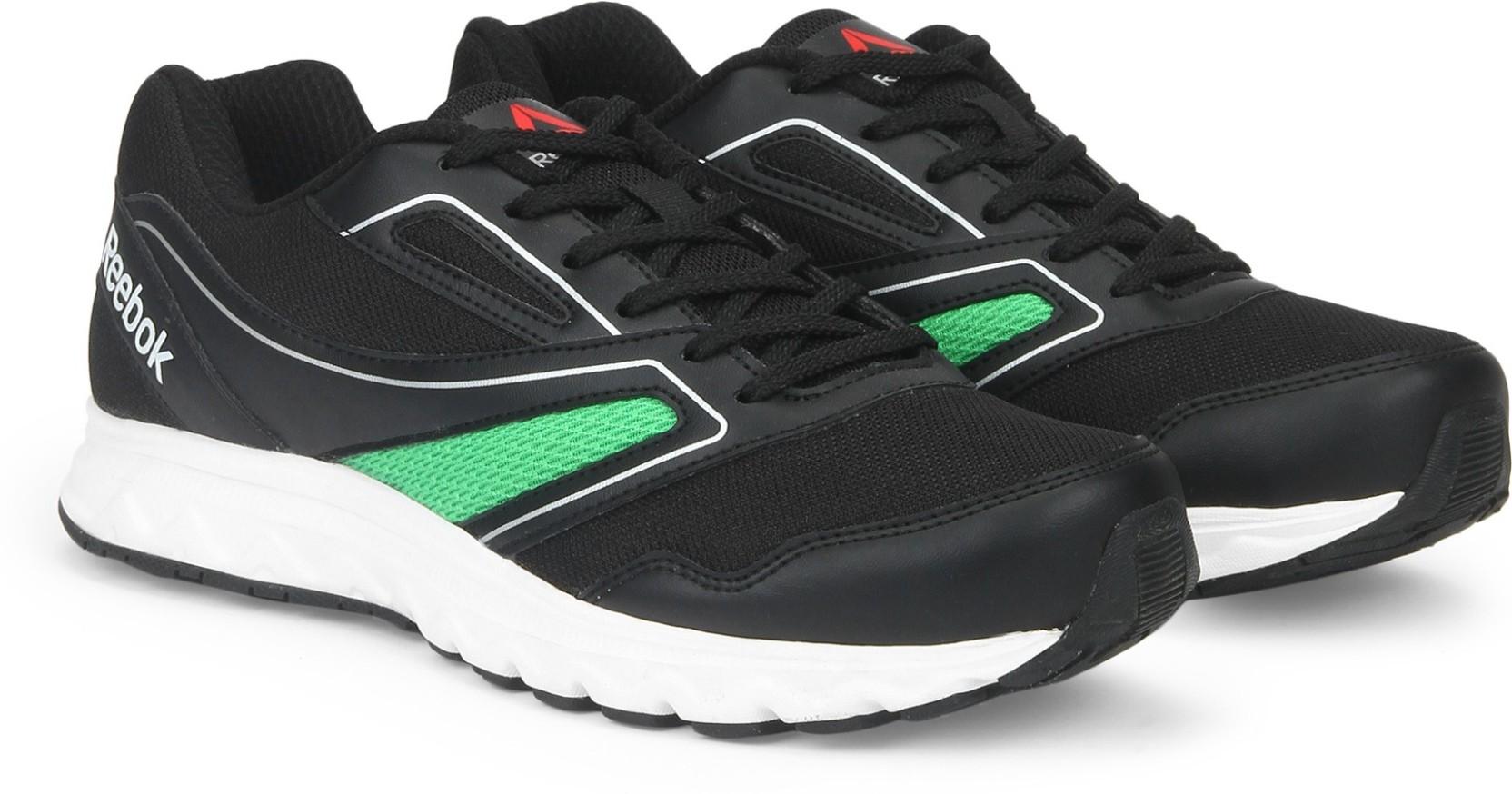 accf4c0853f REEBOK EXPLORE RUN Running Shoes For Men - Buy BLACK BRT GRN MET SIL ...