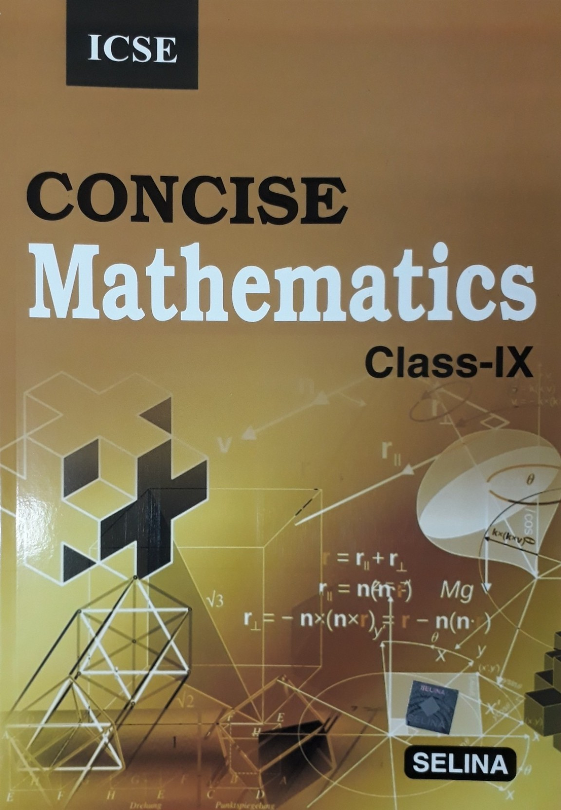 ICSE CONCISE MATHEMATICS CLASS IX. ADD TO CART