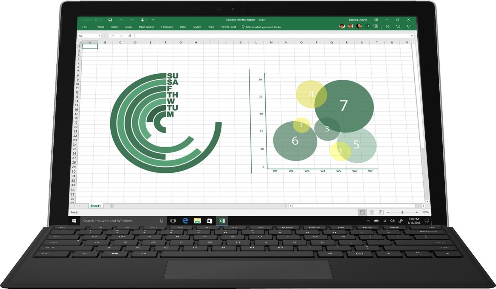 Microsoft Surface Pro Core i5 7th Gen - (8 GB/256 GB SSD