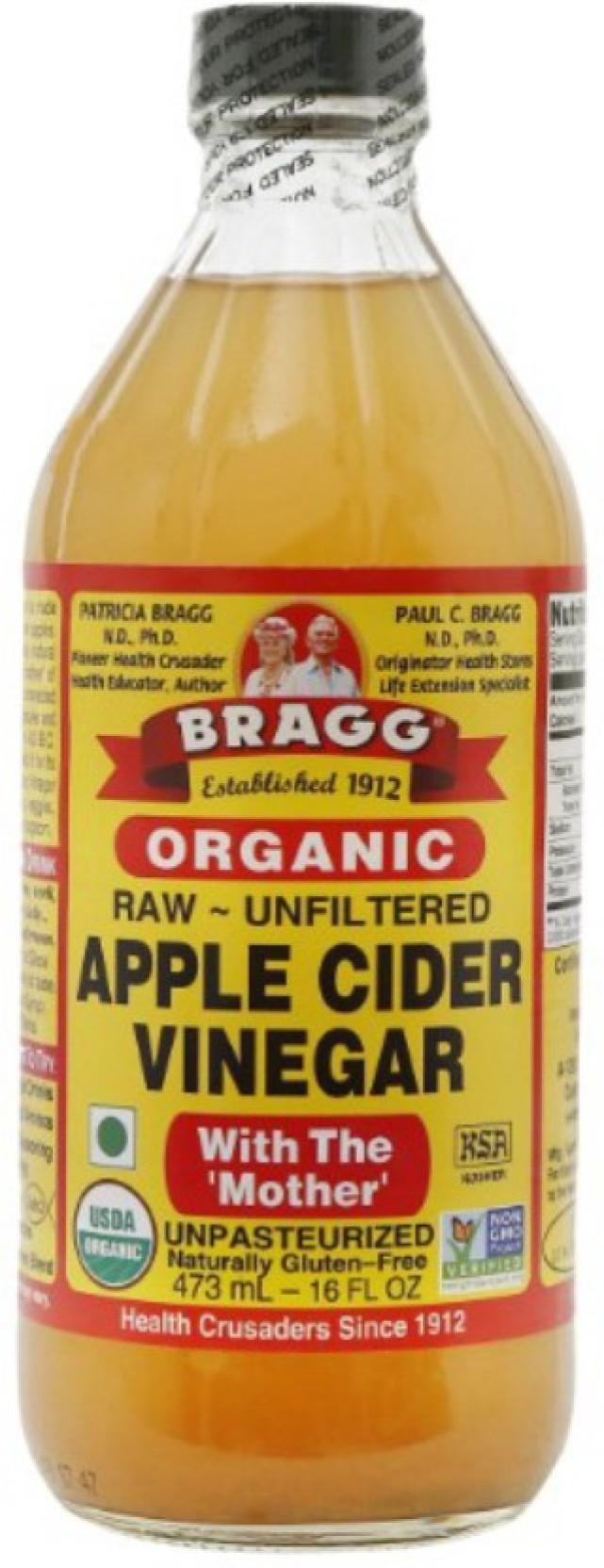 Bragg Organic Apple Cider Vinegar Price In India Buy 473 Ml Home