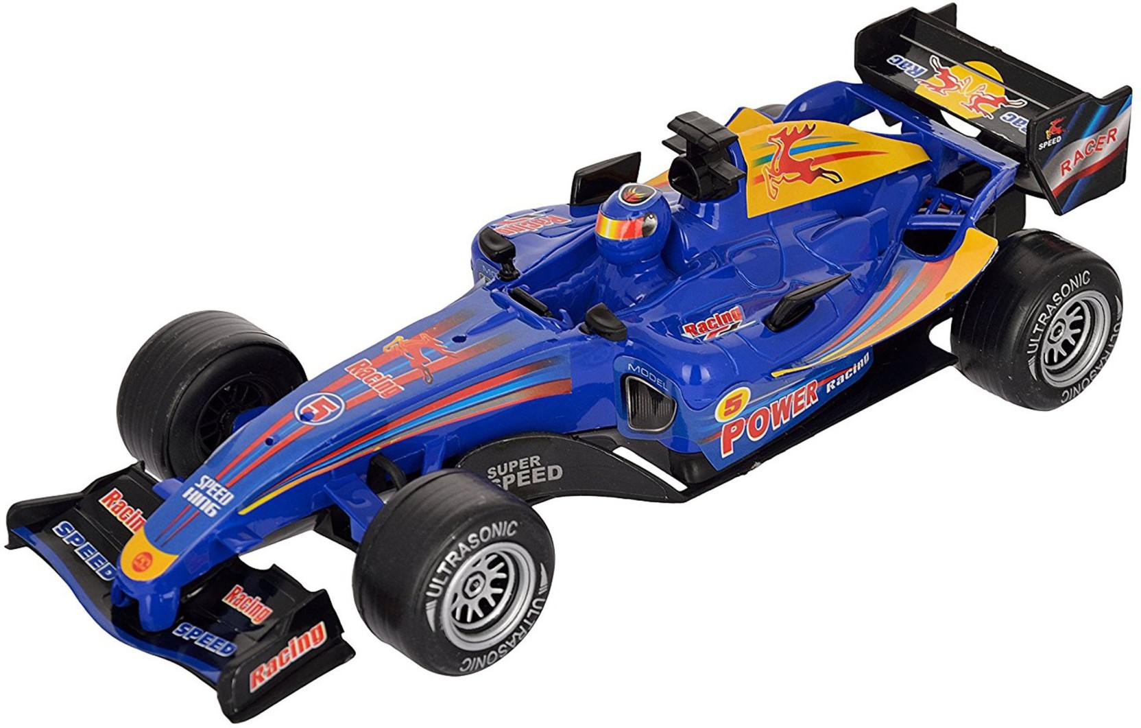 TALKING GANESHA F1 Fricton Die Cast 1:18 Scale Car with