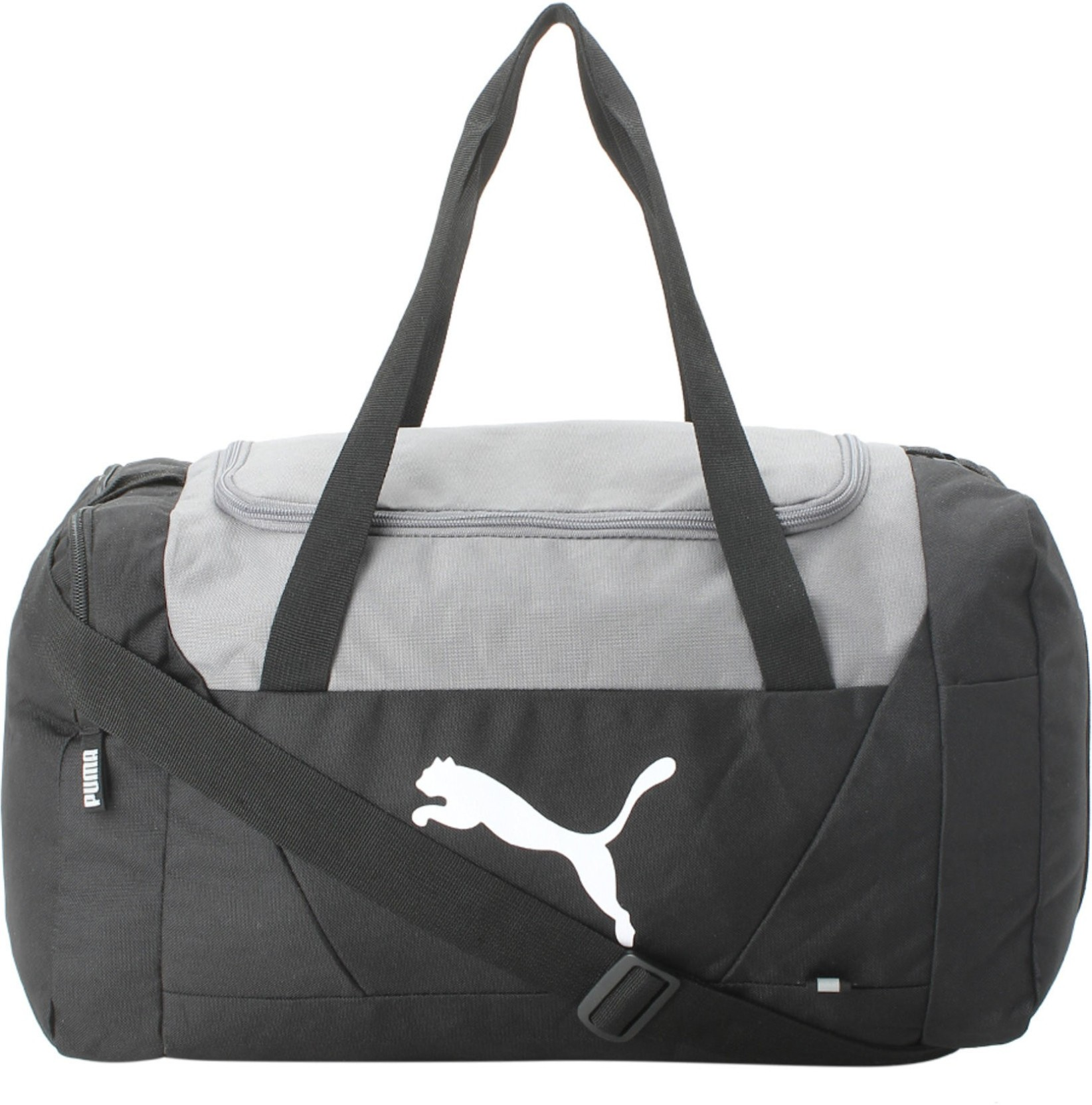 a587bd53ccd Puma Black Fundamental Small Sports Bag