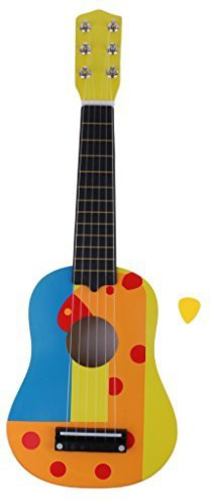 dovewill 21'' colorful 6 strings wooden acoustic guitar