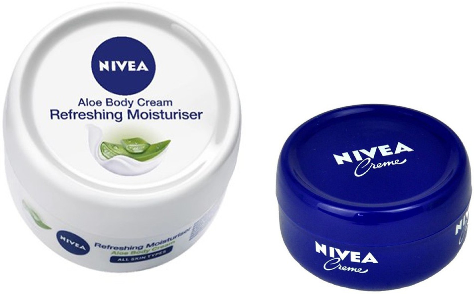 Nivea Aloe Body Cream Refreshing Moisturiser 200 Ml Soft Creme 100 100ml Add To Cart