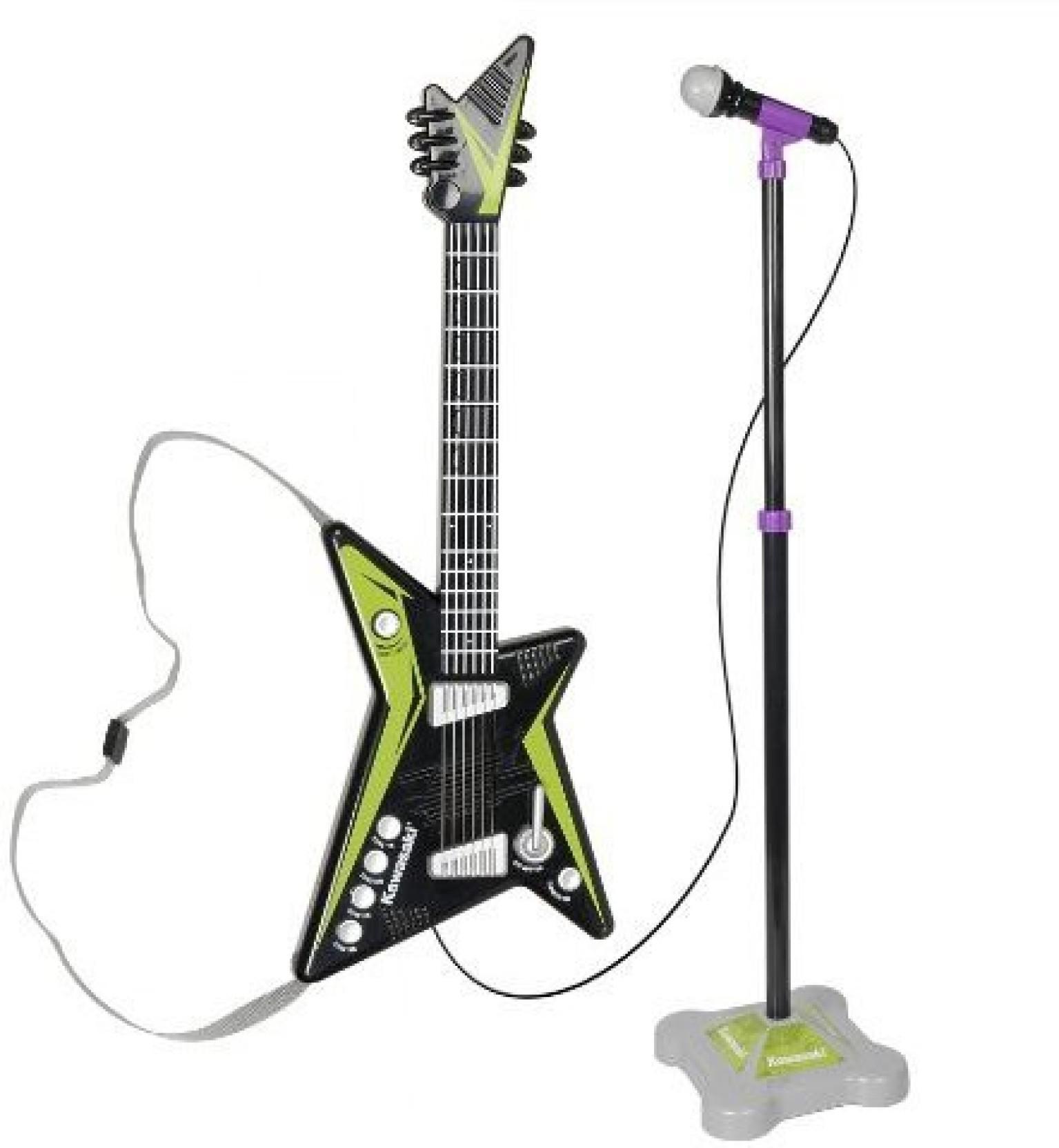 Kawasaki Guitar Toy For Boys Wwwtopsimagescom