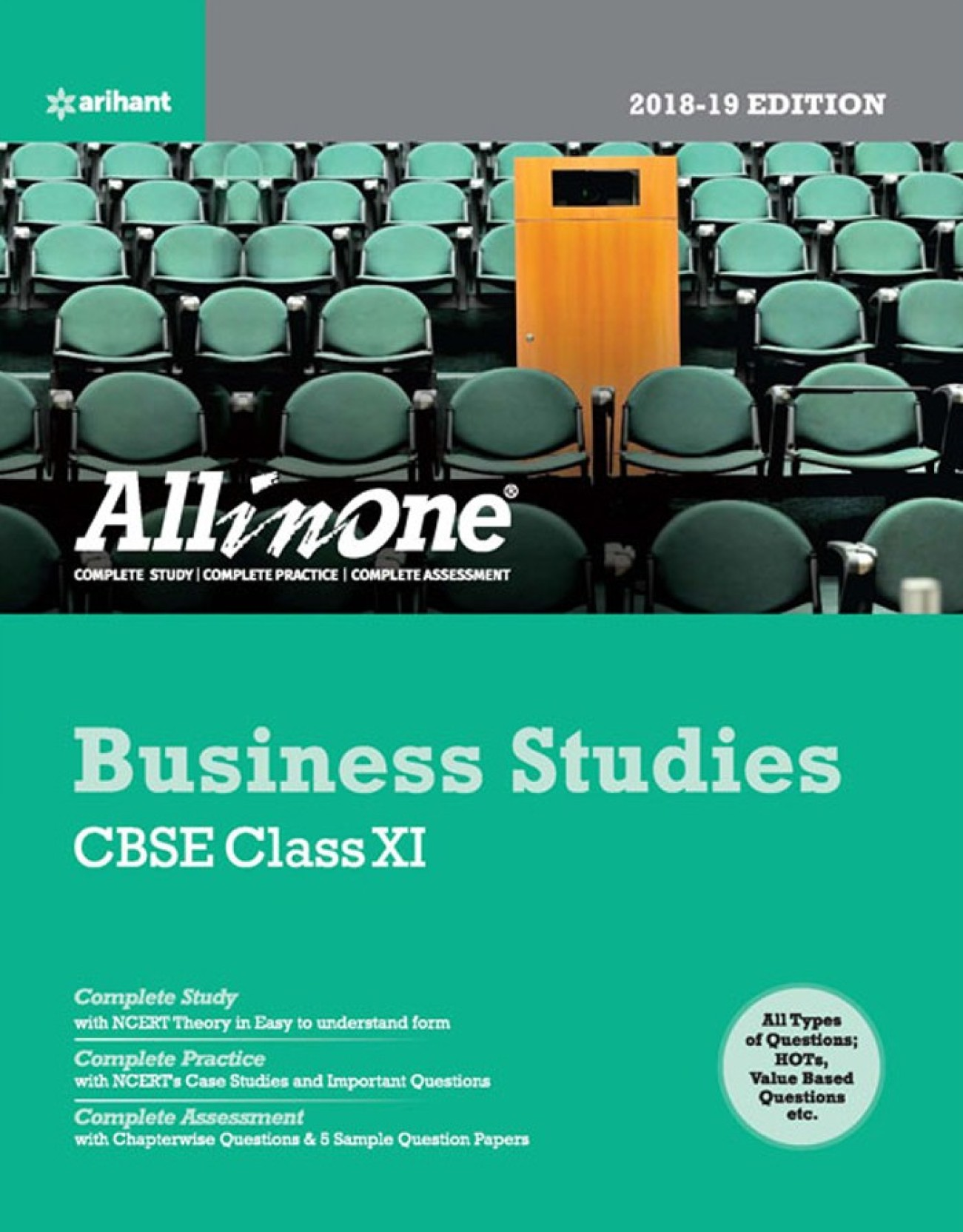 CBSE All In One Business Studies Class 11 for 2018 - 19 - Buy CBSE ...
