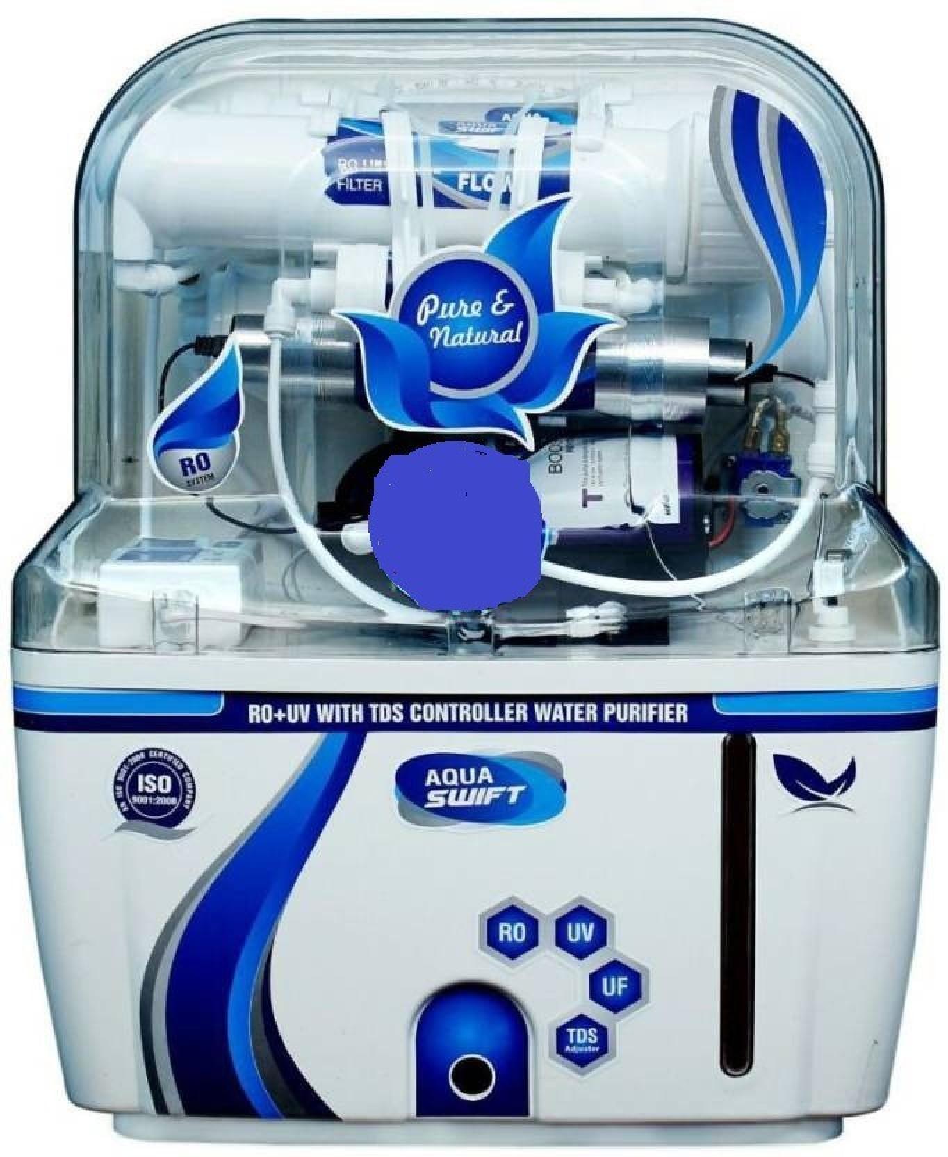 Aquaguard ( BLUE 12 ) liters. 10 L RO + UV + UF + TDS, Gravity Based ...